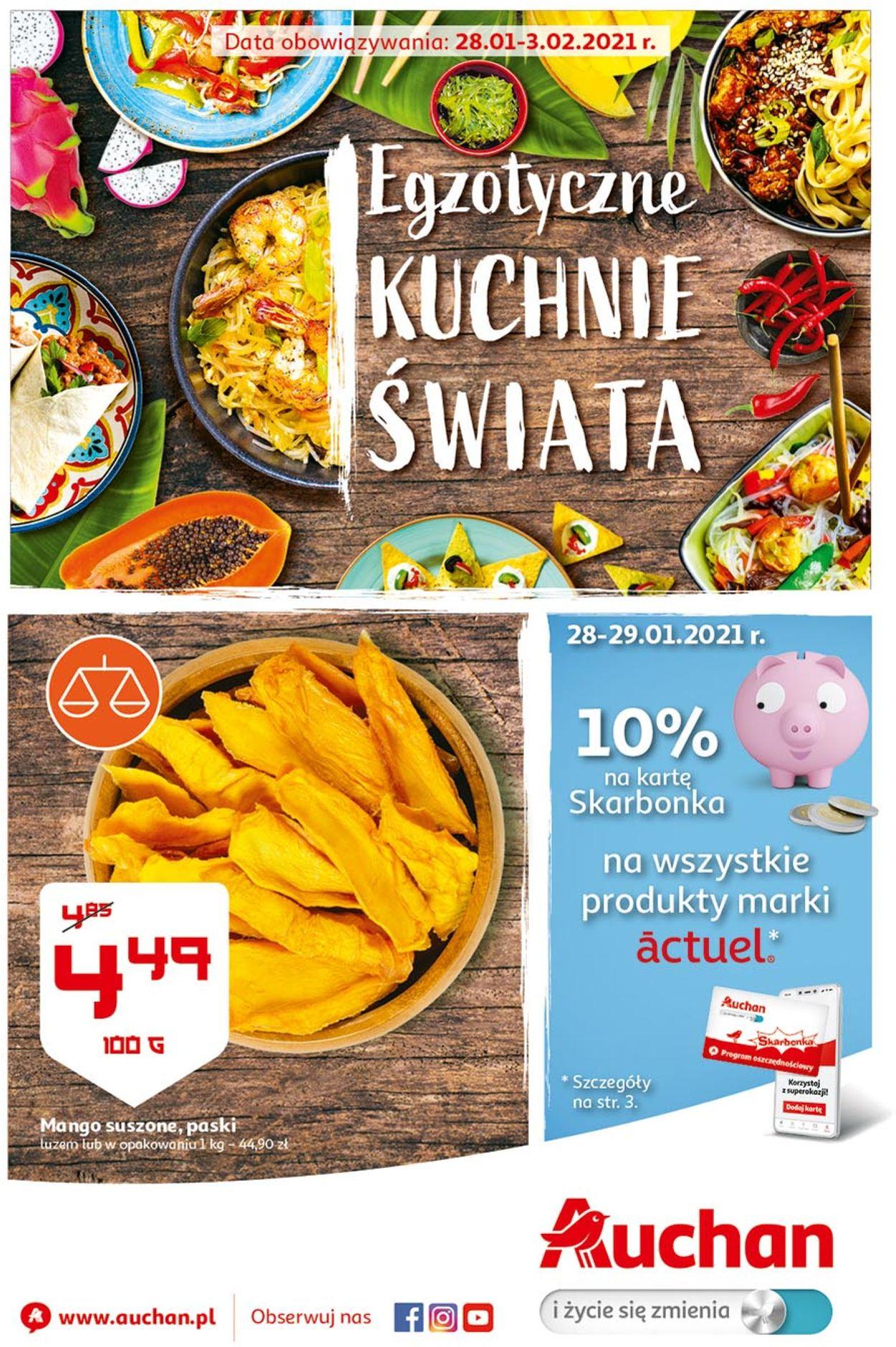 Gazetka promocyjna Auchan - 28.01-03.02.2021