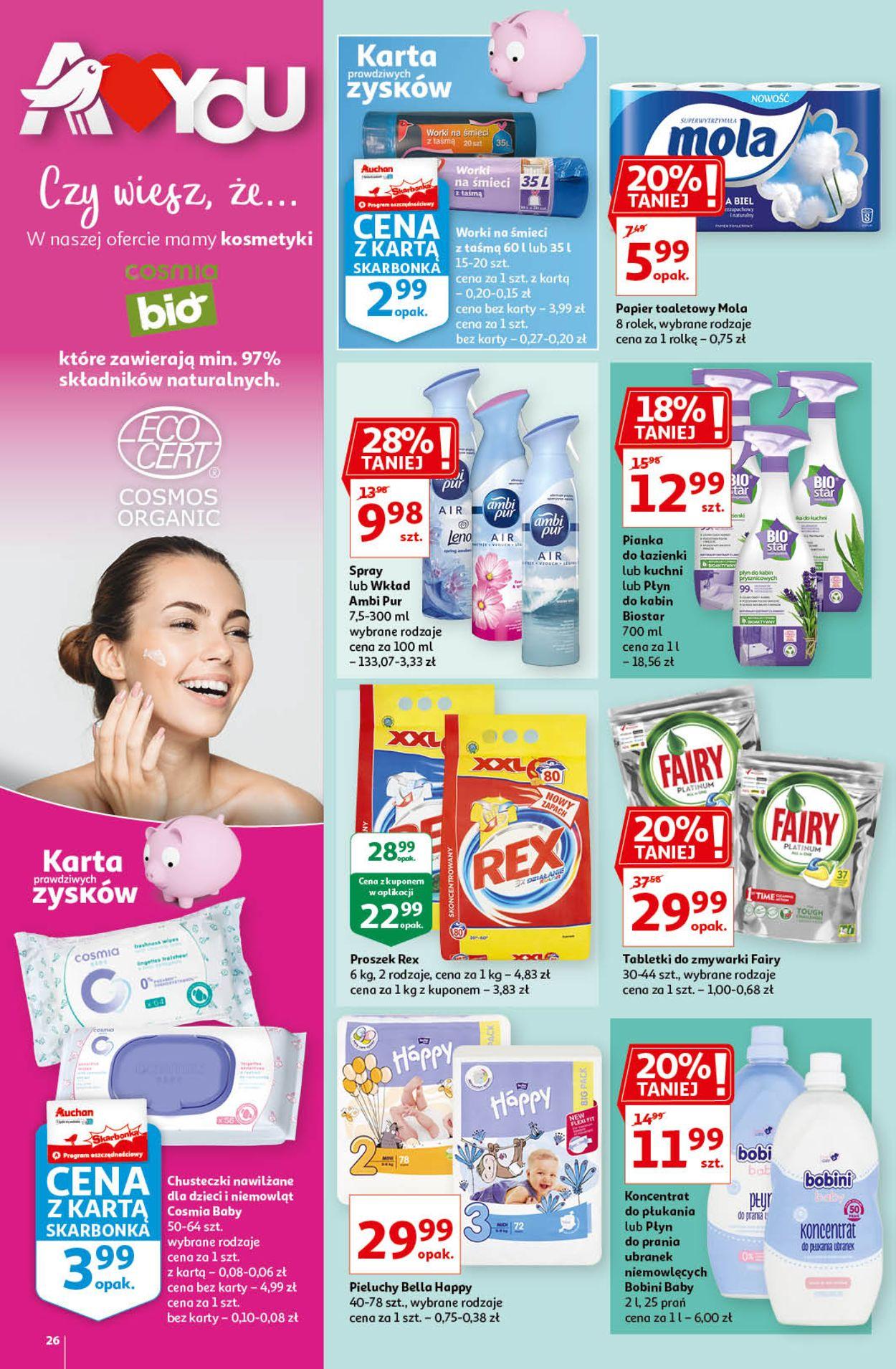 Gazetka promocyjna Auchan A Love you - 11.02-17.02.2021 (Strona 26)