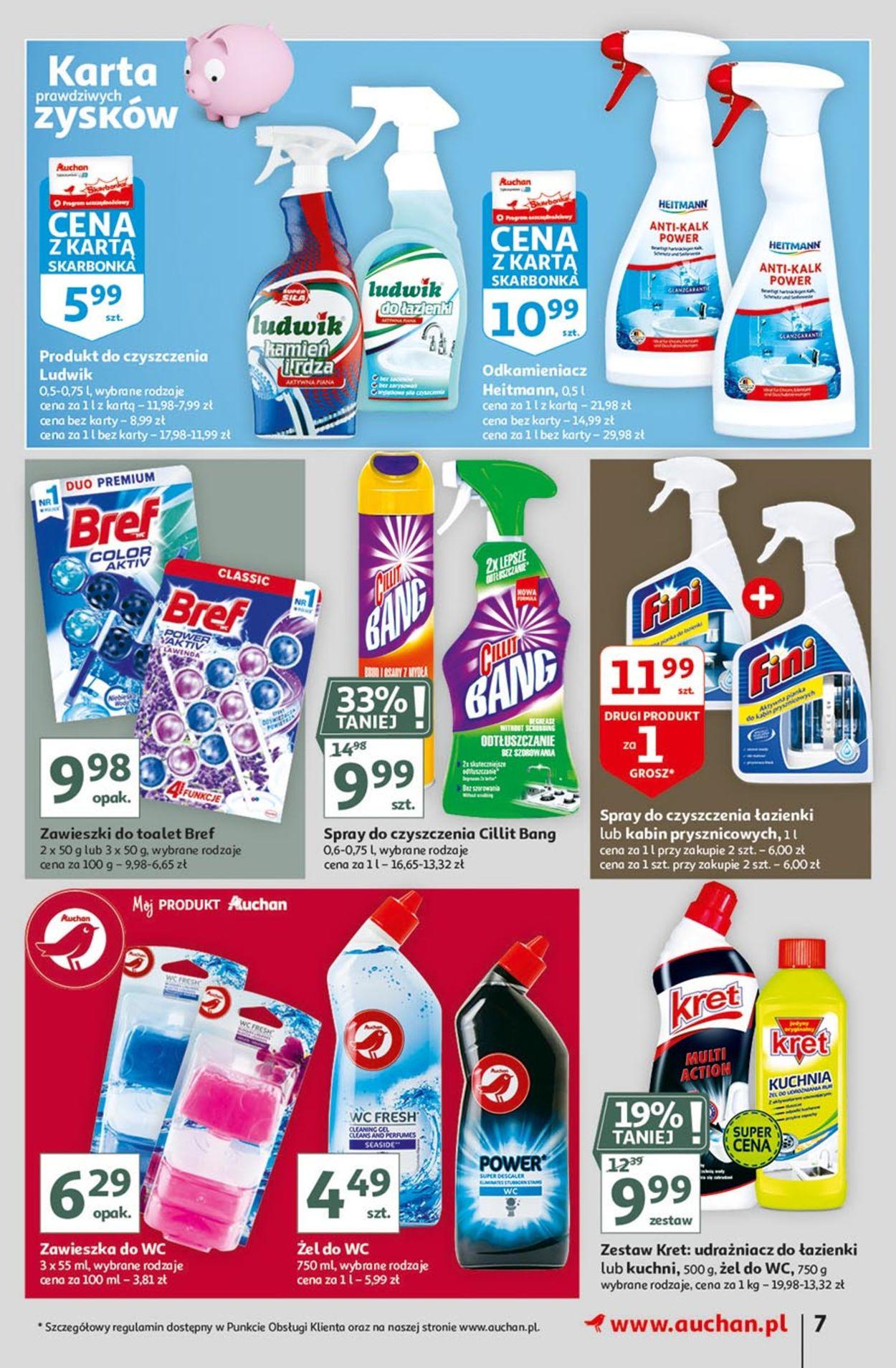 Gazetka promocyjna Auchan Hiper porządki - 18.02-25.02.2021 (Strona 7)