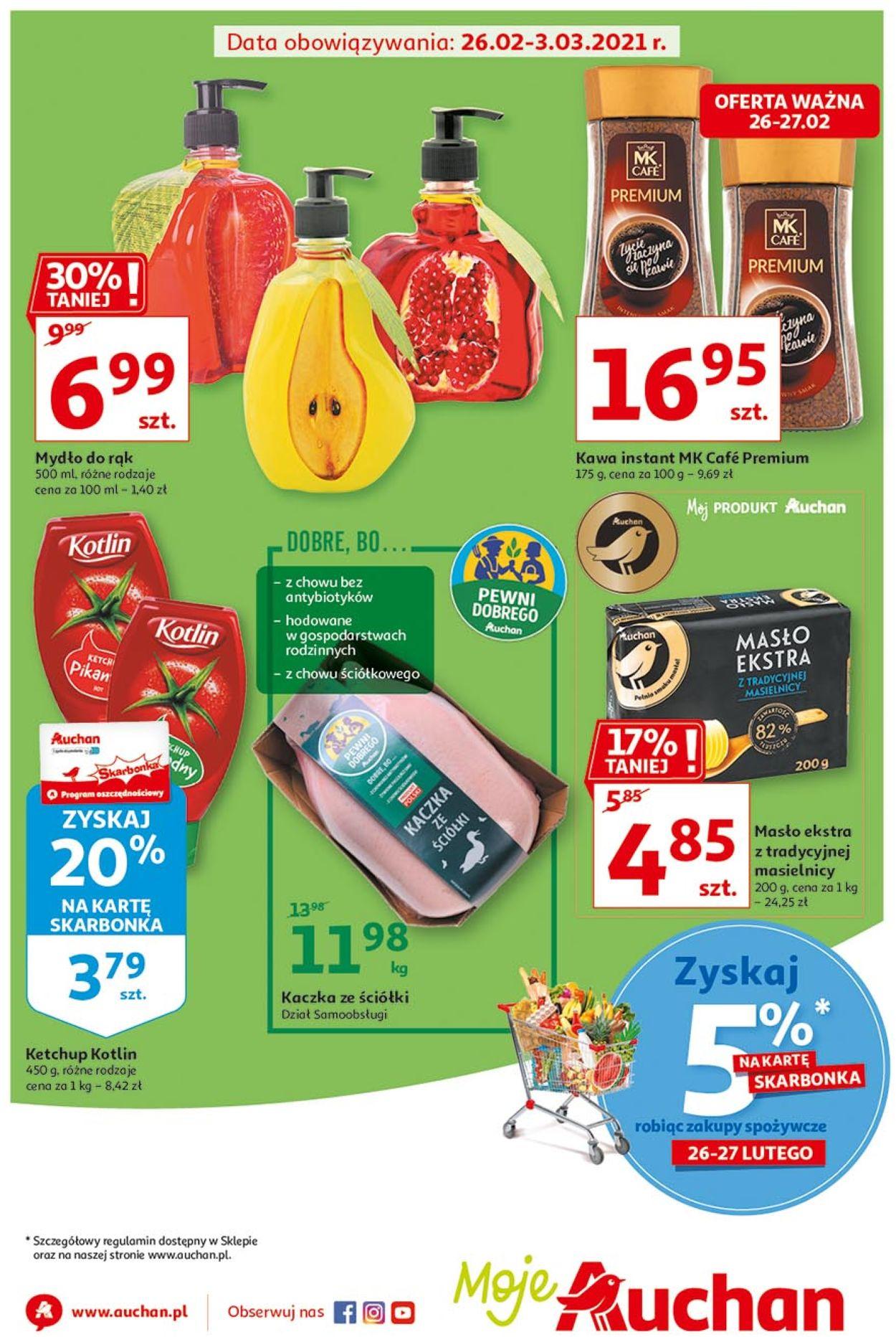 Gazetka promocyjna Auchan - 26.02-03.03.2021