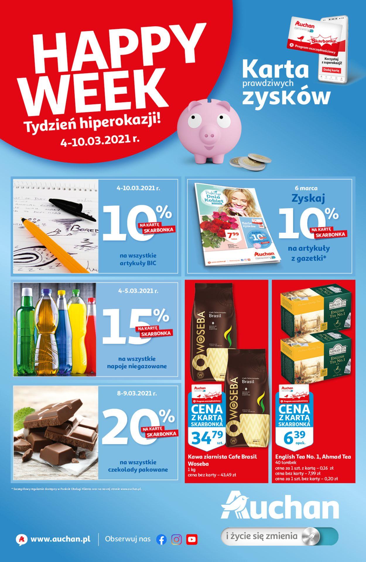 Gazetka promocyjna Auchan - 04.02-10.02.2021