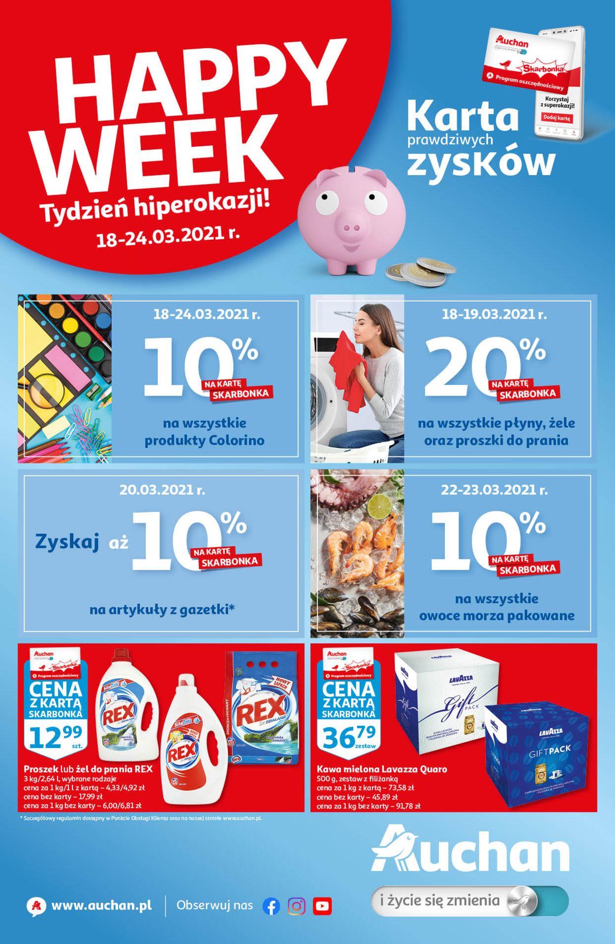 Gazetka promocyjna Auchan - 18.03-24.03.2021