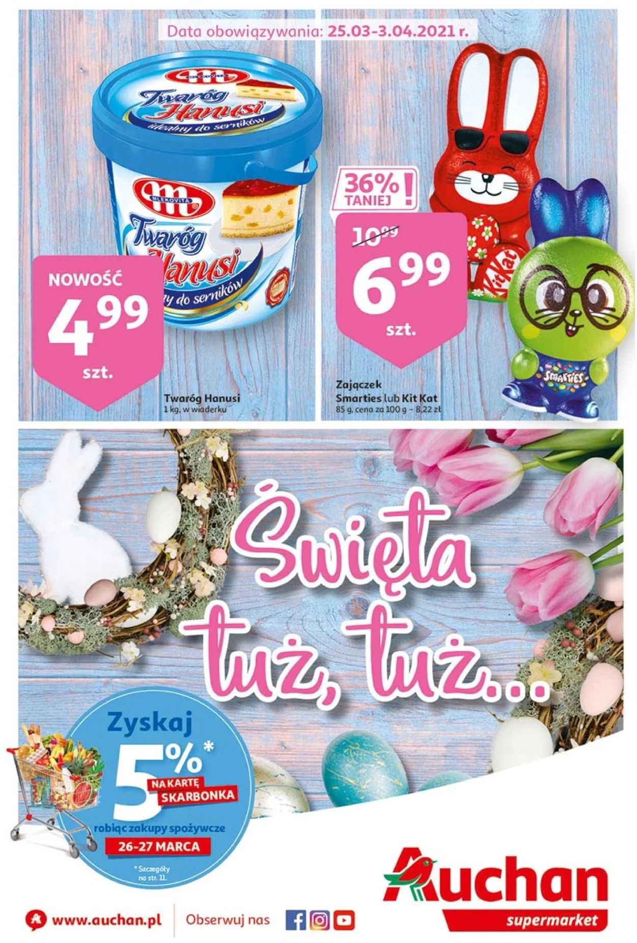 Gazetka promocyjna Auchan Wielkanoc 2021! - 25.03-03.04.2021