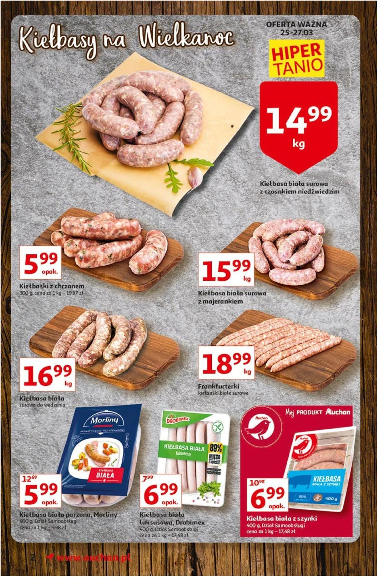 Gazetka promocyjna Auchan Wielkanoc 2021! - 25.03-03.04.2021 (Strona 2)