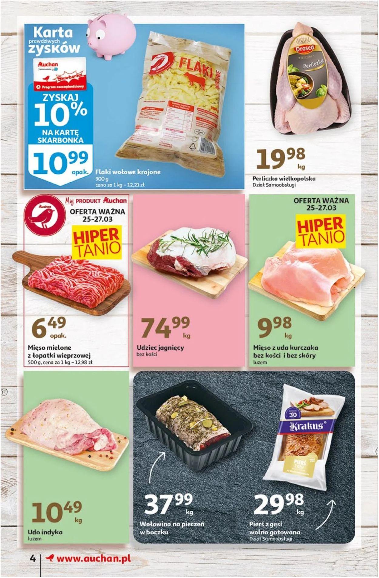 Gazetka promocyjna Auchan Wielkanoc 2021! - 25.03-03.04.2021 (Strona 4)