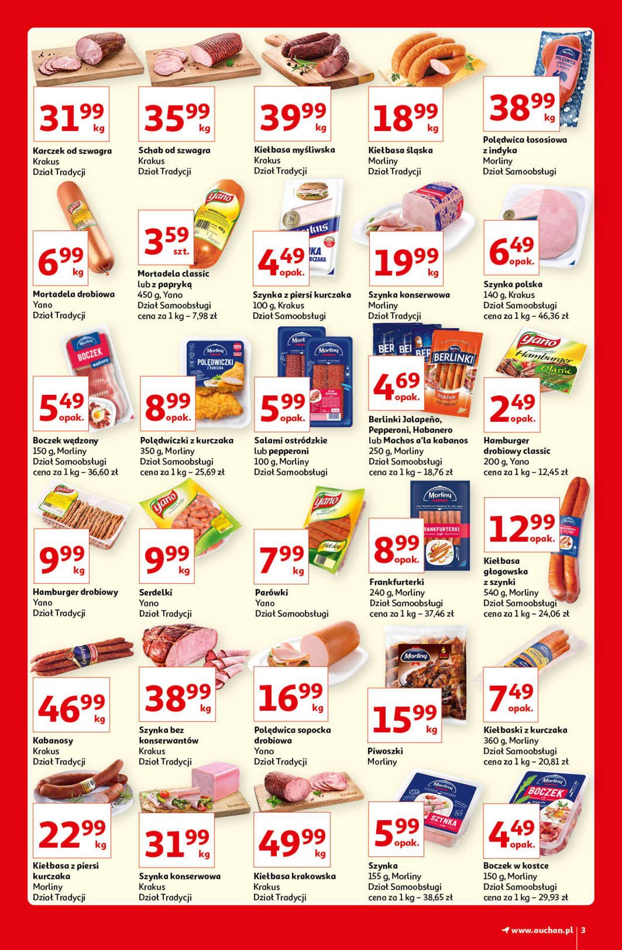 Gazetka promocyjna Auchan Kultowe marki Hipermarkety - 08.04-14.04.2021 (Strona 3)