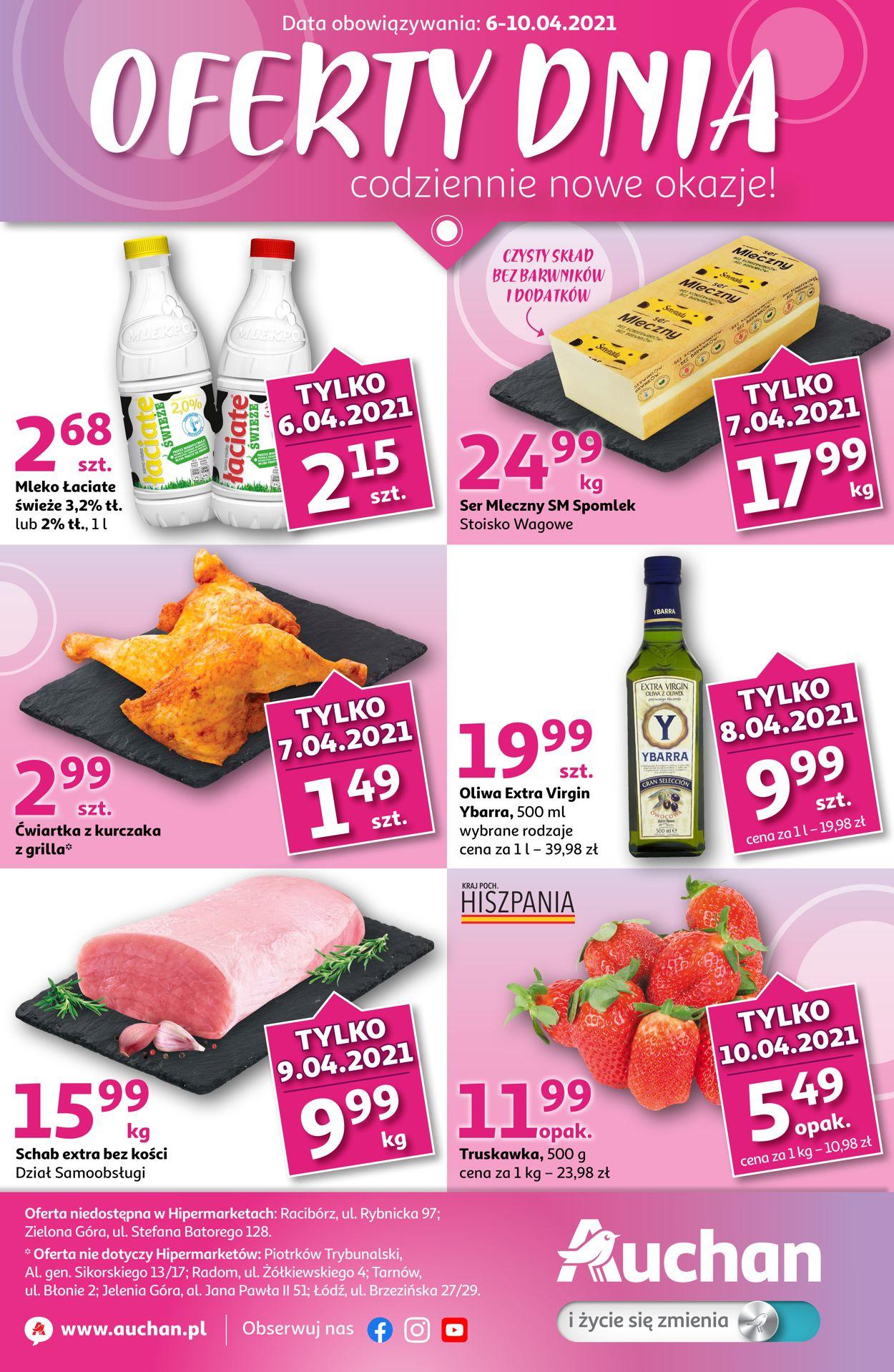 Gazetka promocyjna Auchan - 06.04-10.04.2021