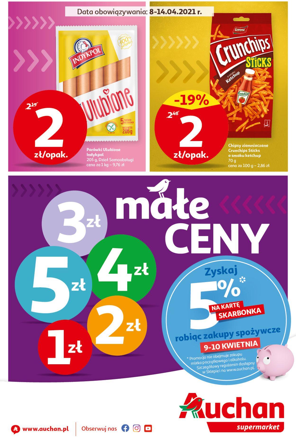 Gazetka promocyjna Auchan - 08.04-14.04.2021