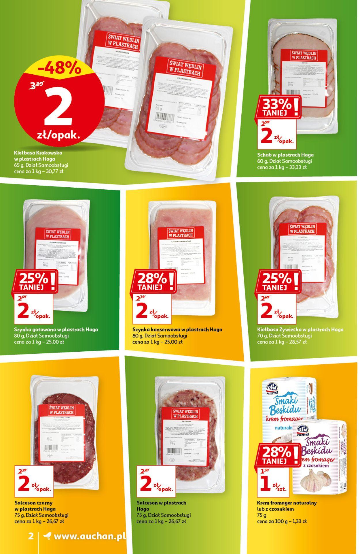 Gazetka promocyjna Auchan - 08.04-14.04.2021 (Strona 2)