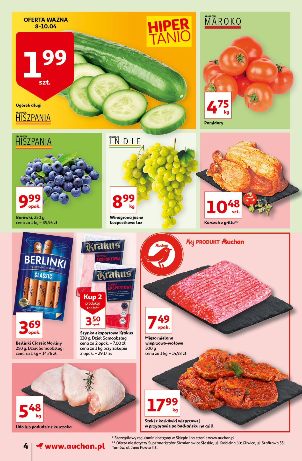 Gazetka promocyjna Auchan - 08.04-14.04.2021 (Strona 4)