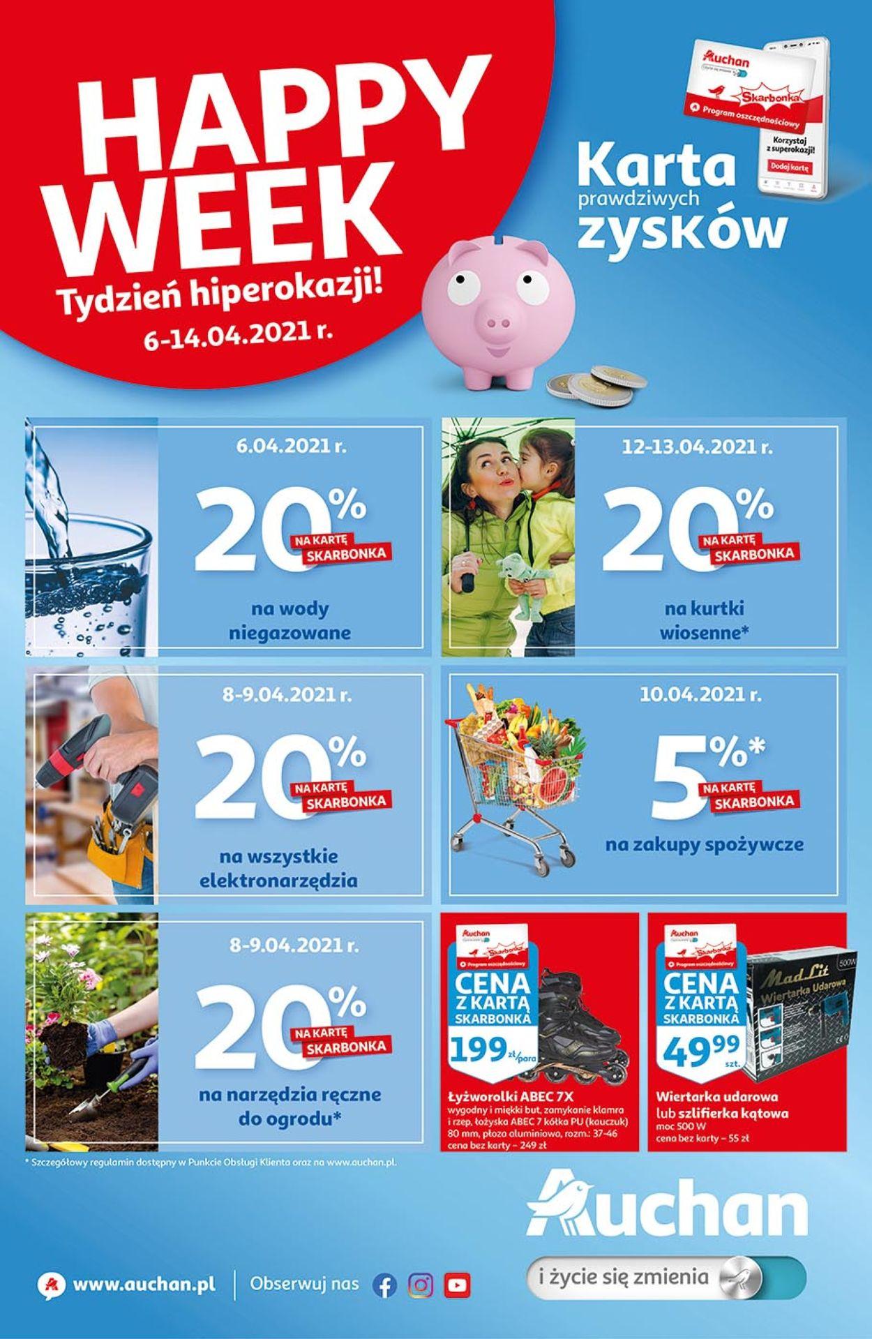 Gazetka promocyjna Auchan - 06.04-14.04.2021