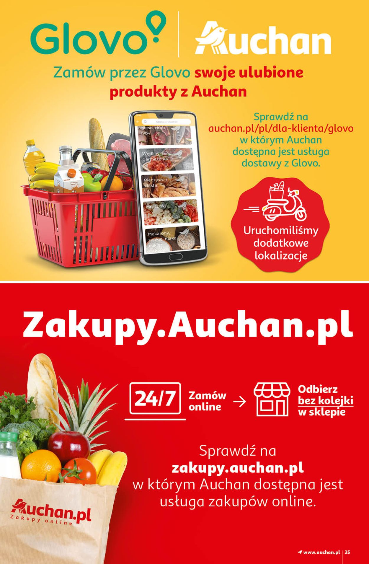 Gazetka promocyjna Auchan Magic Birds Hipermarkety - 15.04-21.04.2021 (Strona 35)
