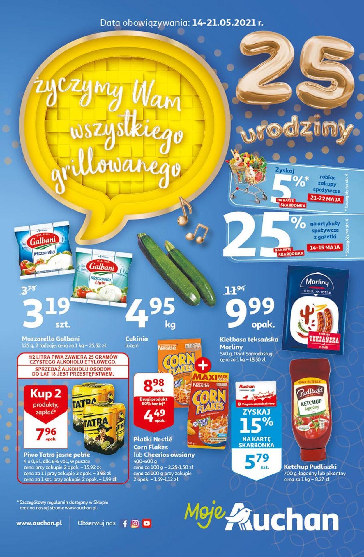Gazetka promocyjna Auchan - 14.05-21.05.2021