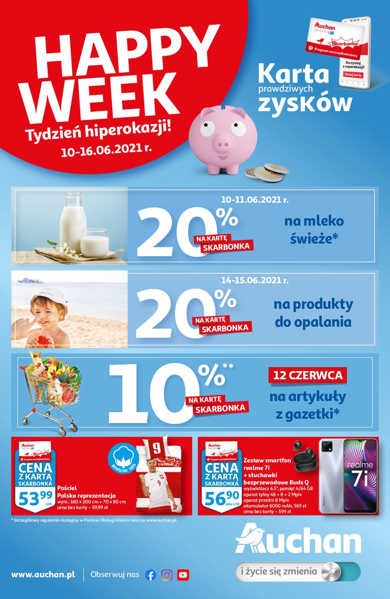 Gazetka promocyjna Auchan - 10.06-16.06.2021