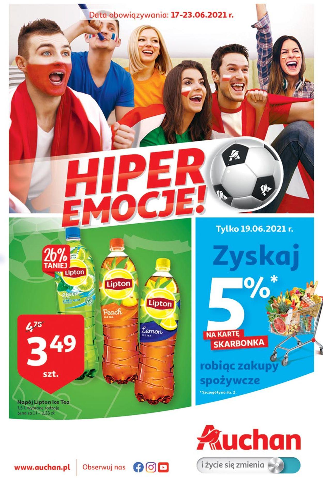 Gazetka promocyjna Auchan - 17.06-23.06.2021
