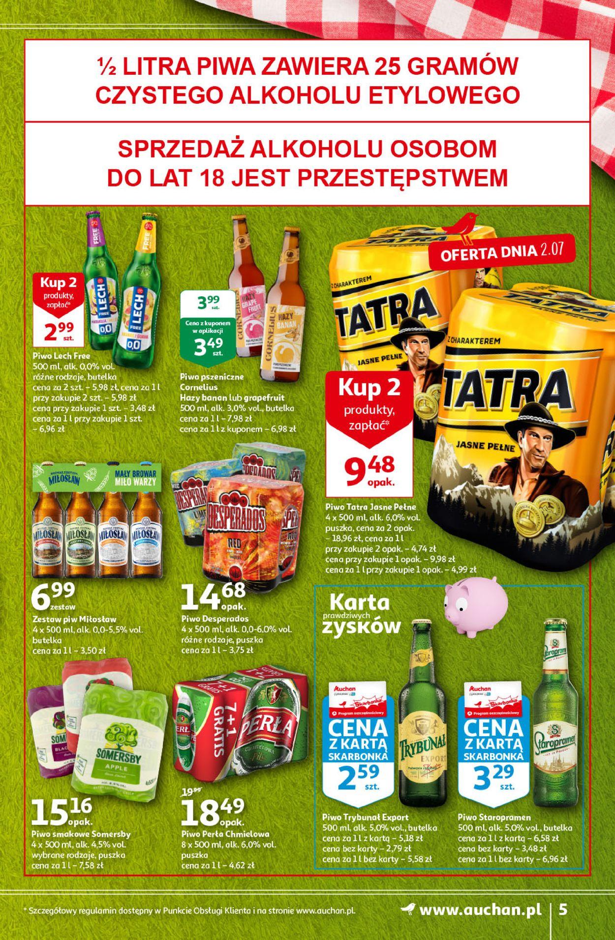 Gazetka promocyjna Auchan - 01.07-07.07.2021 (Strona 5)