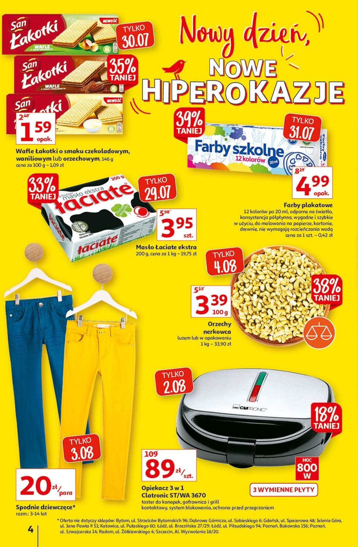 Gazetka promocyjna Auchan - 29.07-04.08.2021 (Strona 4)