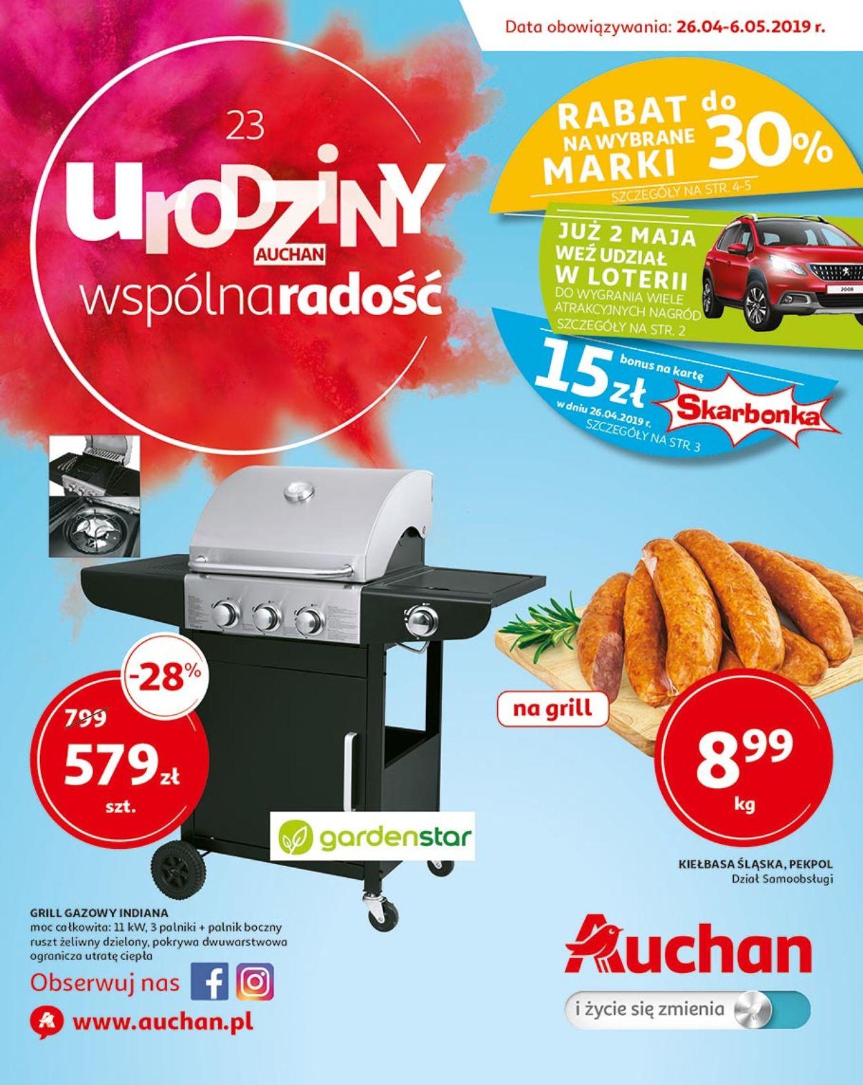 Gazetka promocyjna Auchan - 26.04-06.05.2019