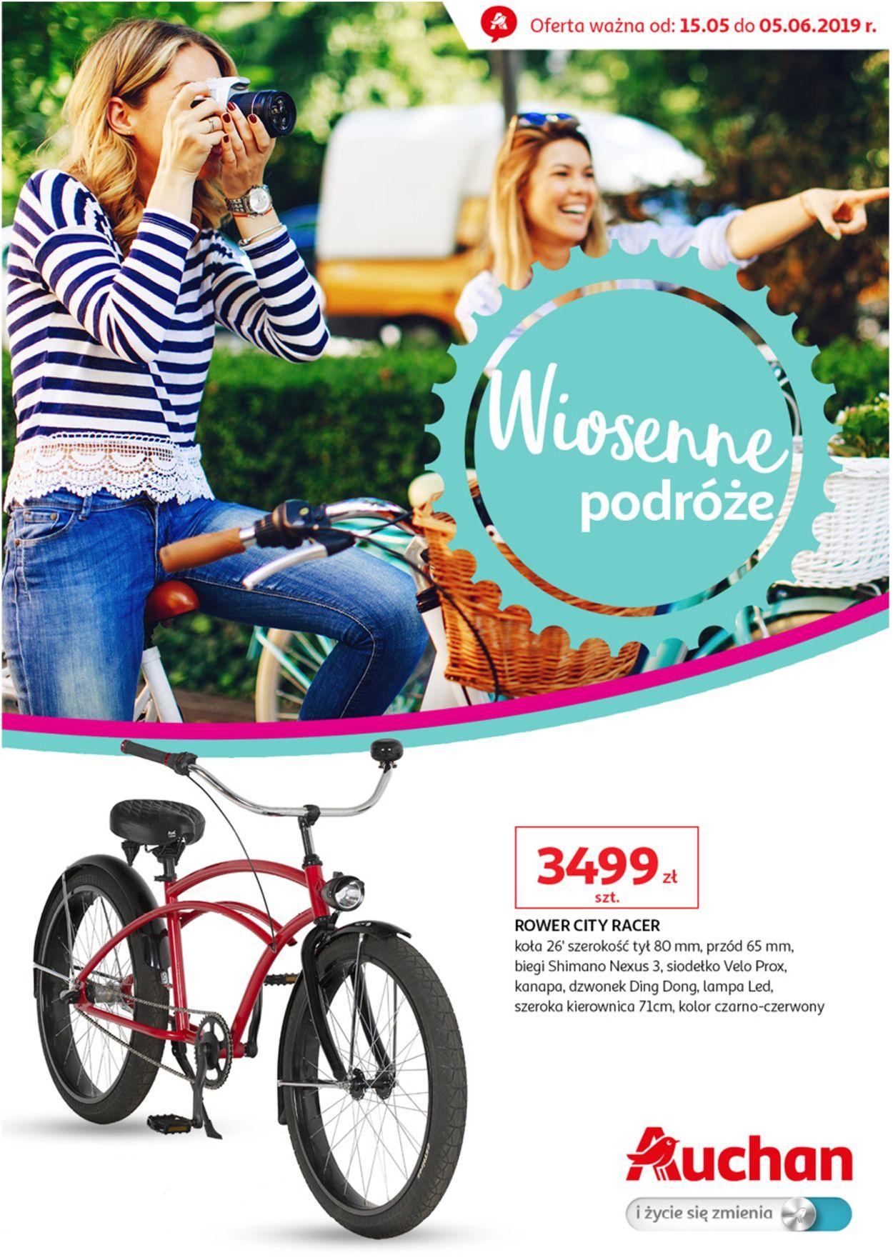 Gazetka promocyjna Auchan - 15.05-05.06.2019