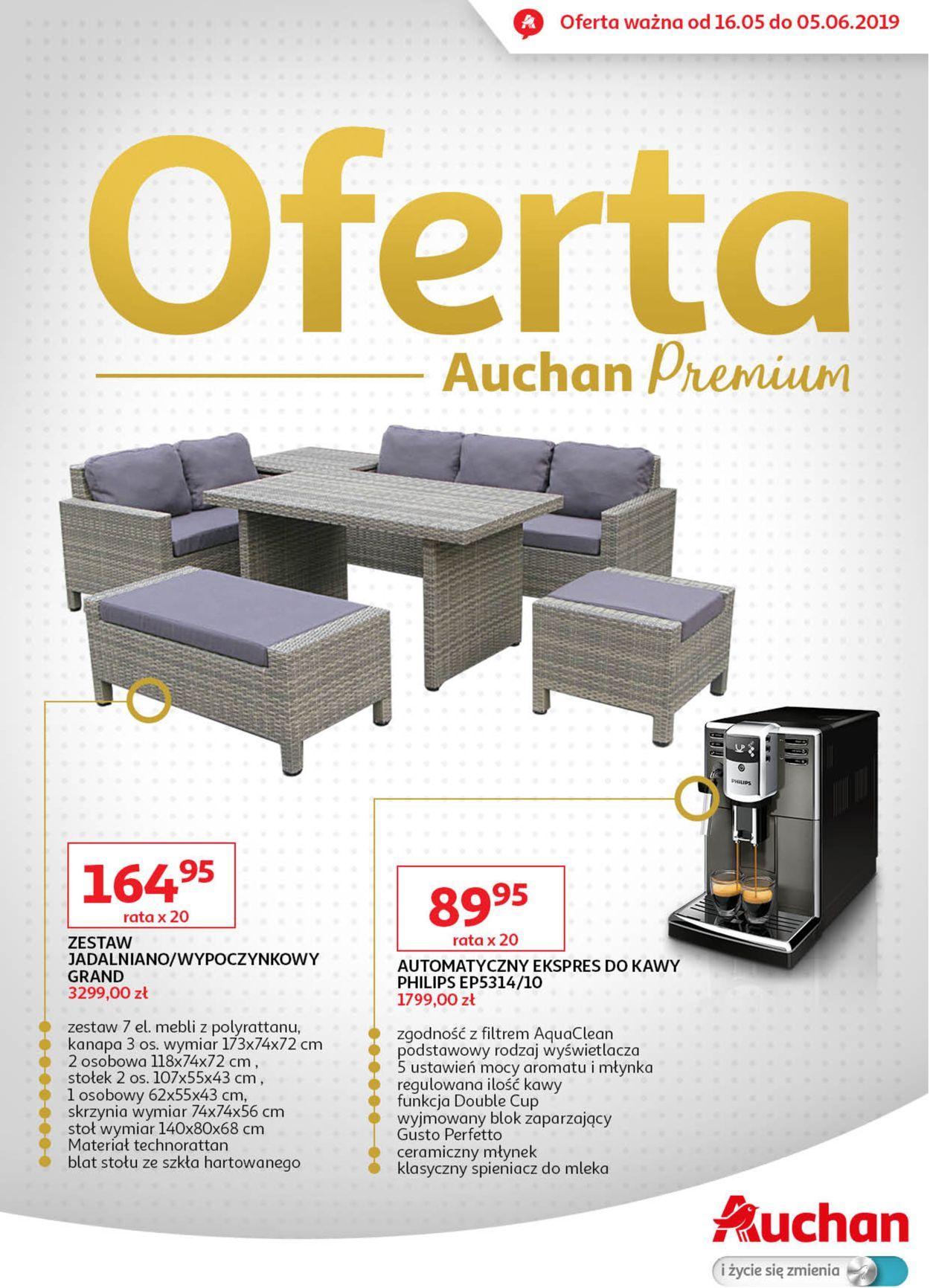 Gazetka promocyjna Auchan - 16.05-05.06.2019