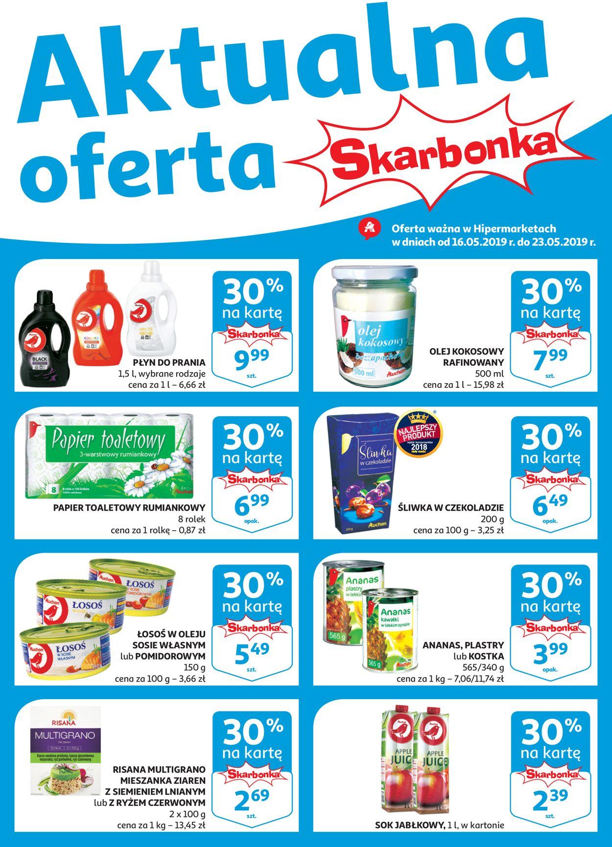 Gazetka promocyjna Auchan - 16.05-23.05.2019