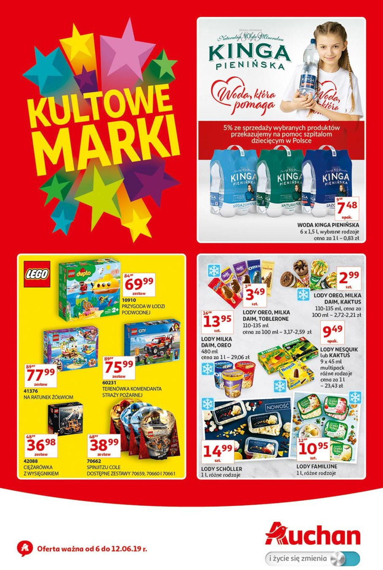 Gazetka promocyjna Auchan - 06.06-12.06.2019