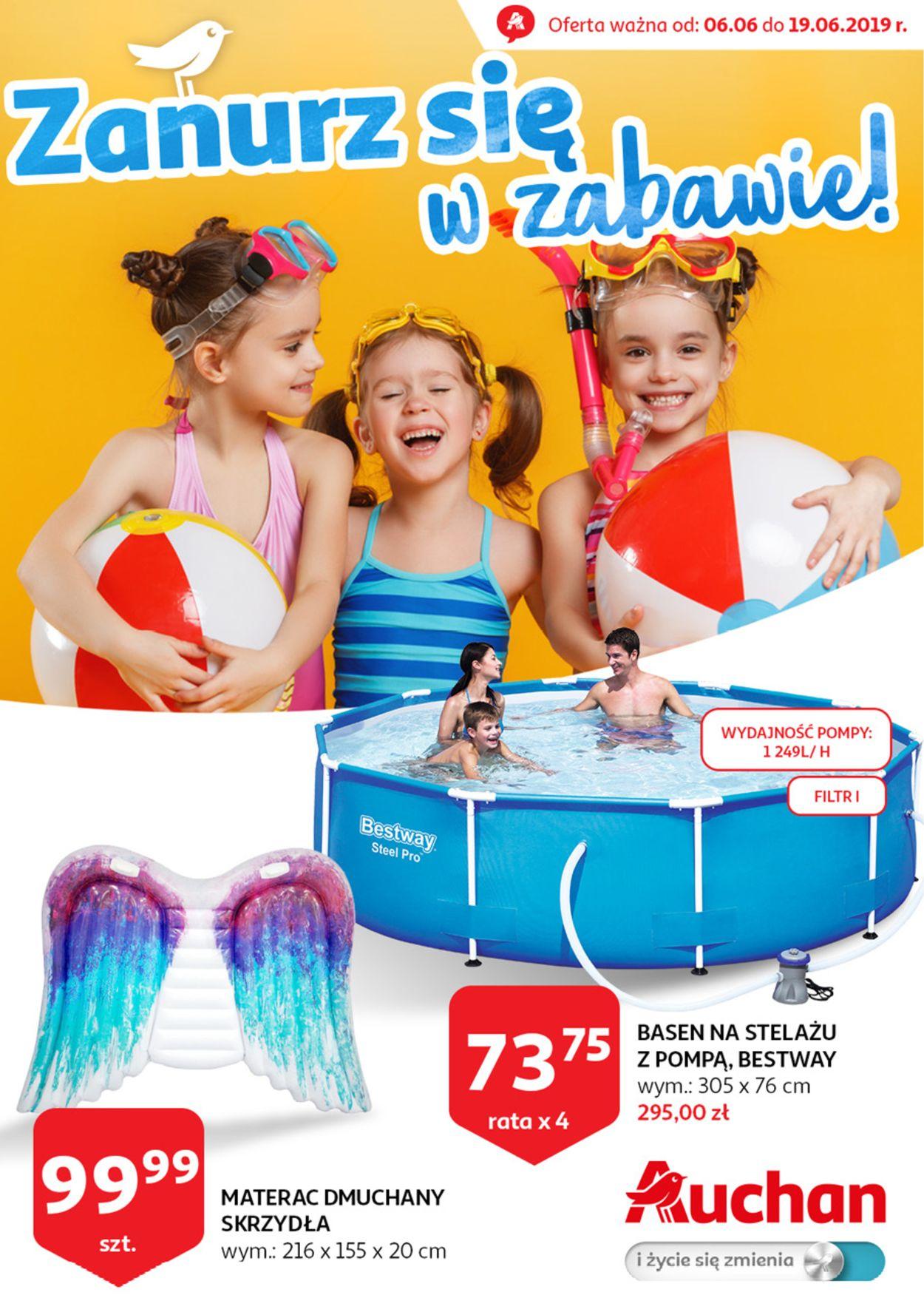 Gazetka promocyjna Auchan - 06.06-19.06.2019