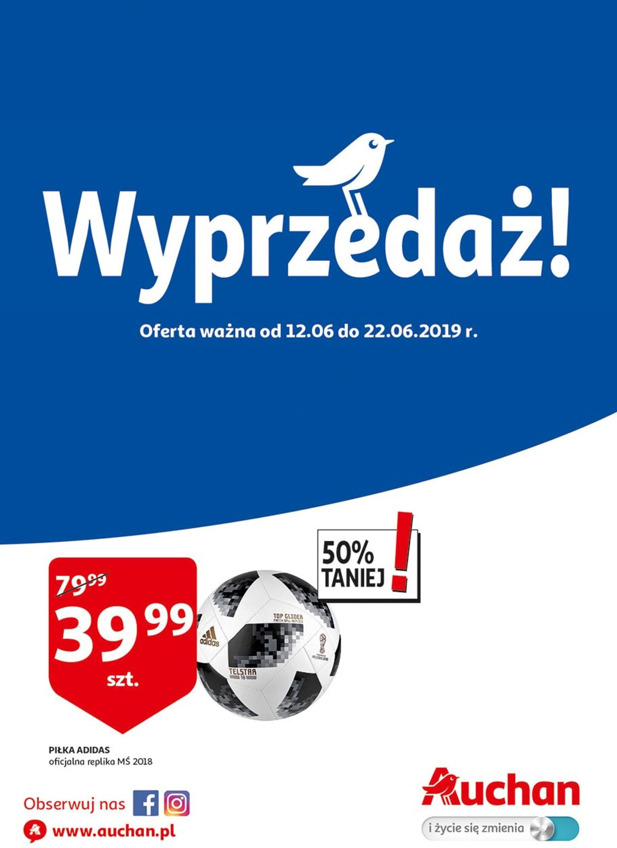 Gazetka promocyjna Auchan - 12.06-22.06.2019