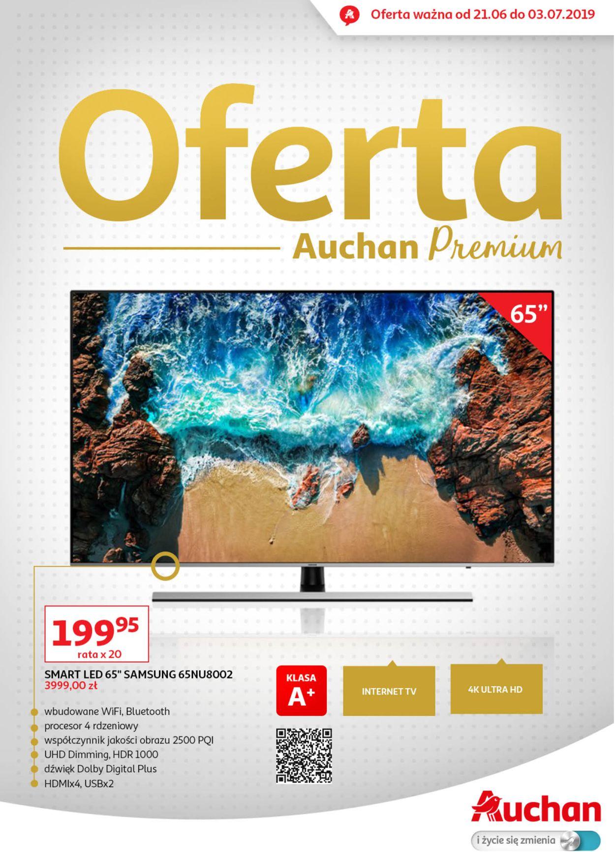 Gazetka promocyjna Auchan - 21.06-03.07.2019