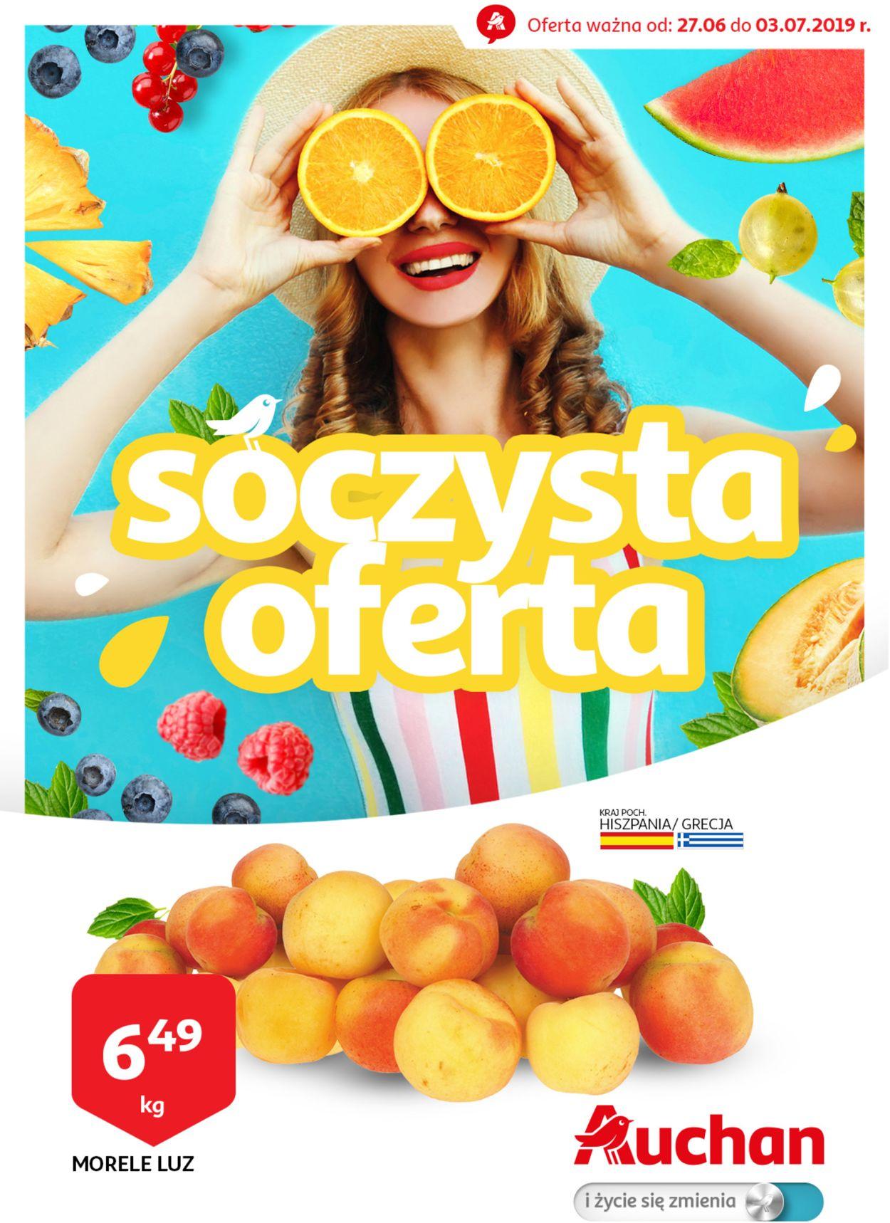 Gazetka promocyjna Auchan - 27.06-03.07.2019
