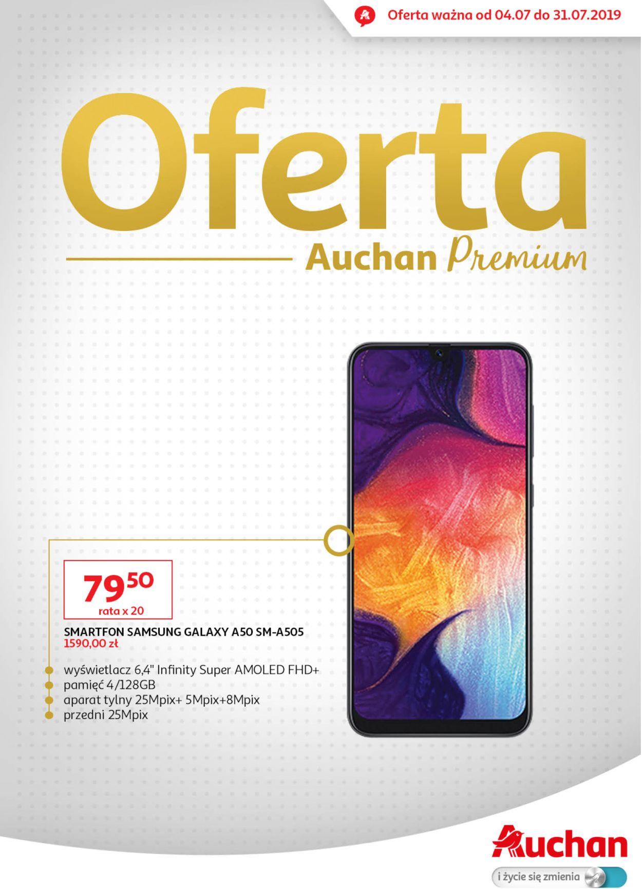 Gazetka promocyjna Auchan - 04.07-31.07.2019