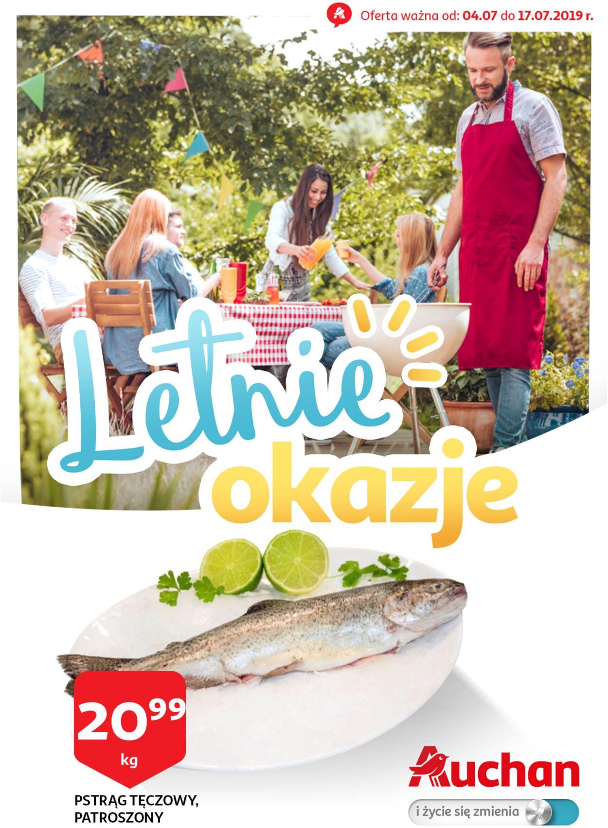 Gazetka promocyjna Auchan - 04.07-17.07.2019