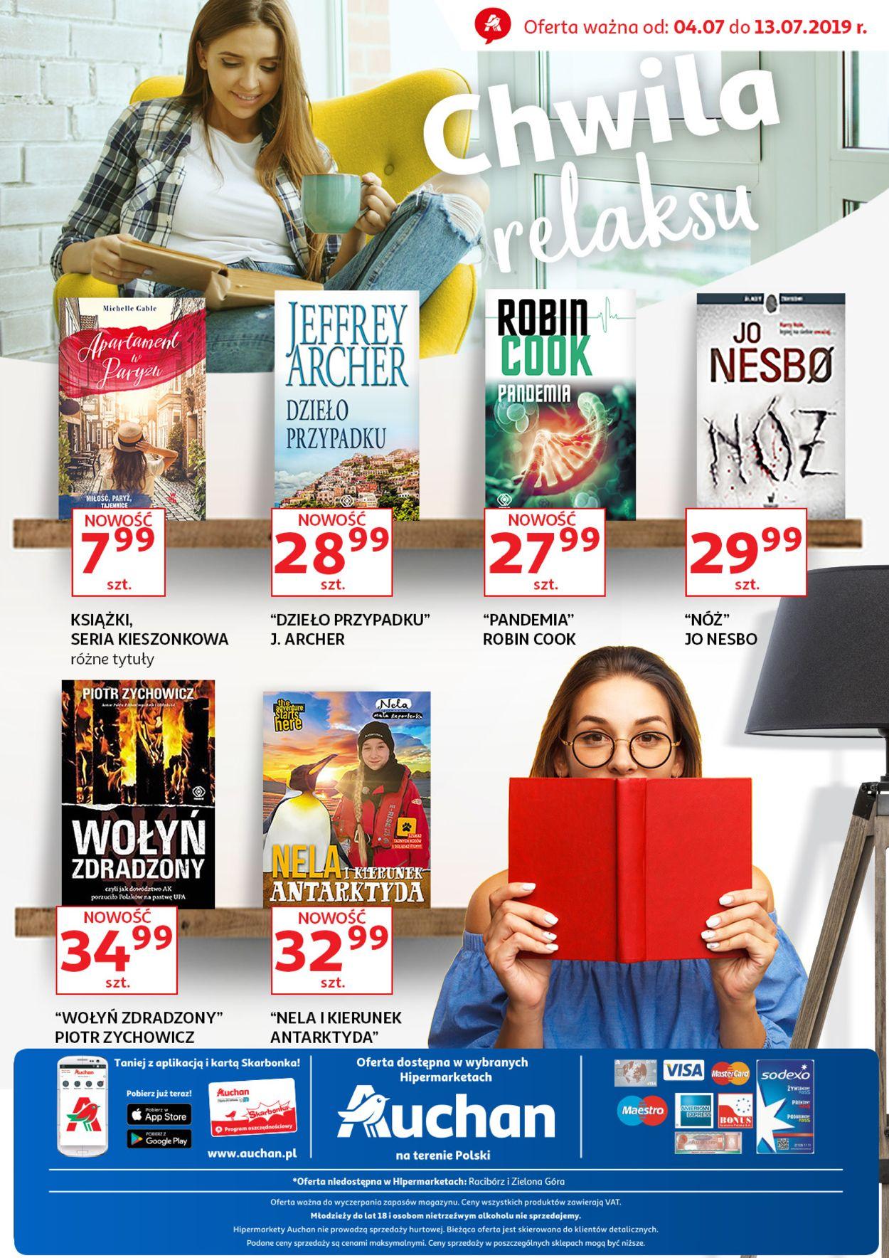Gazetka promocyjna Auchan - 04.07-13.07.2019