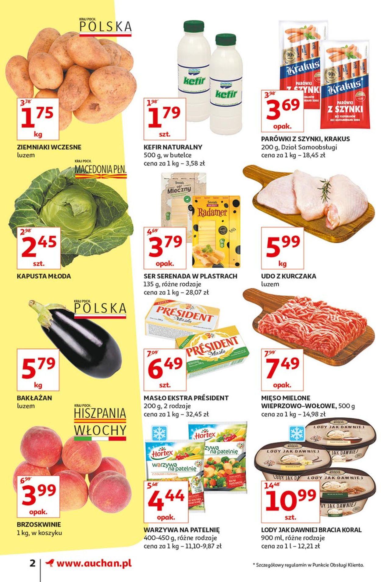 Gazetka promocyjna Auchan - 04.07-10.07.2019 (Strona 2)