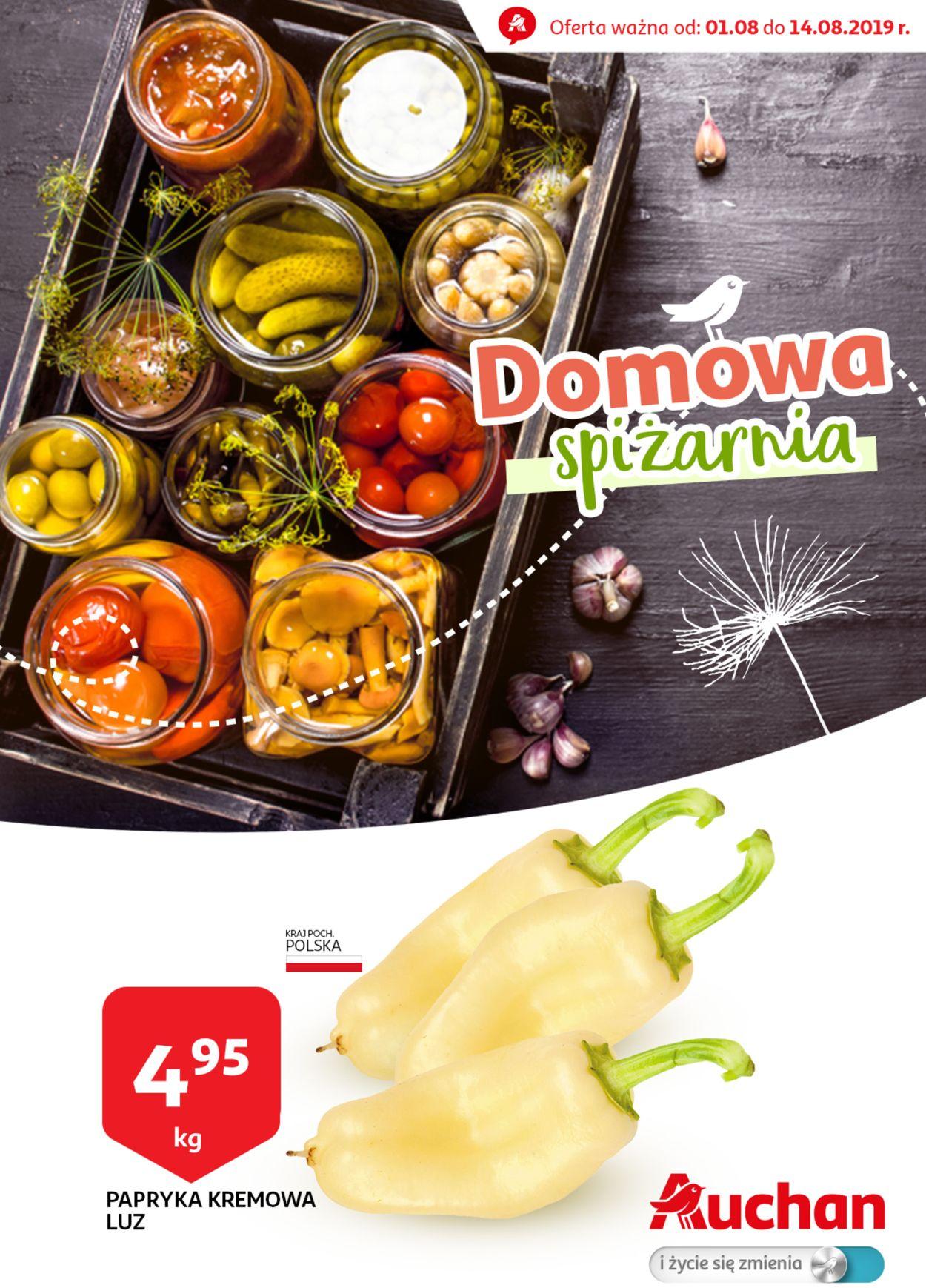 Gazetka promocyjna Auchan - 01.08-14.08.2019