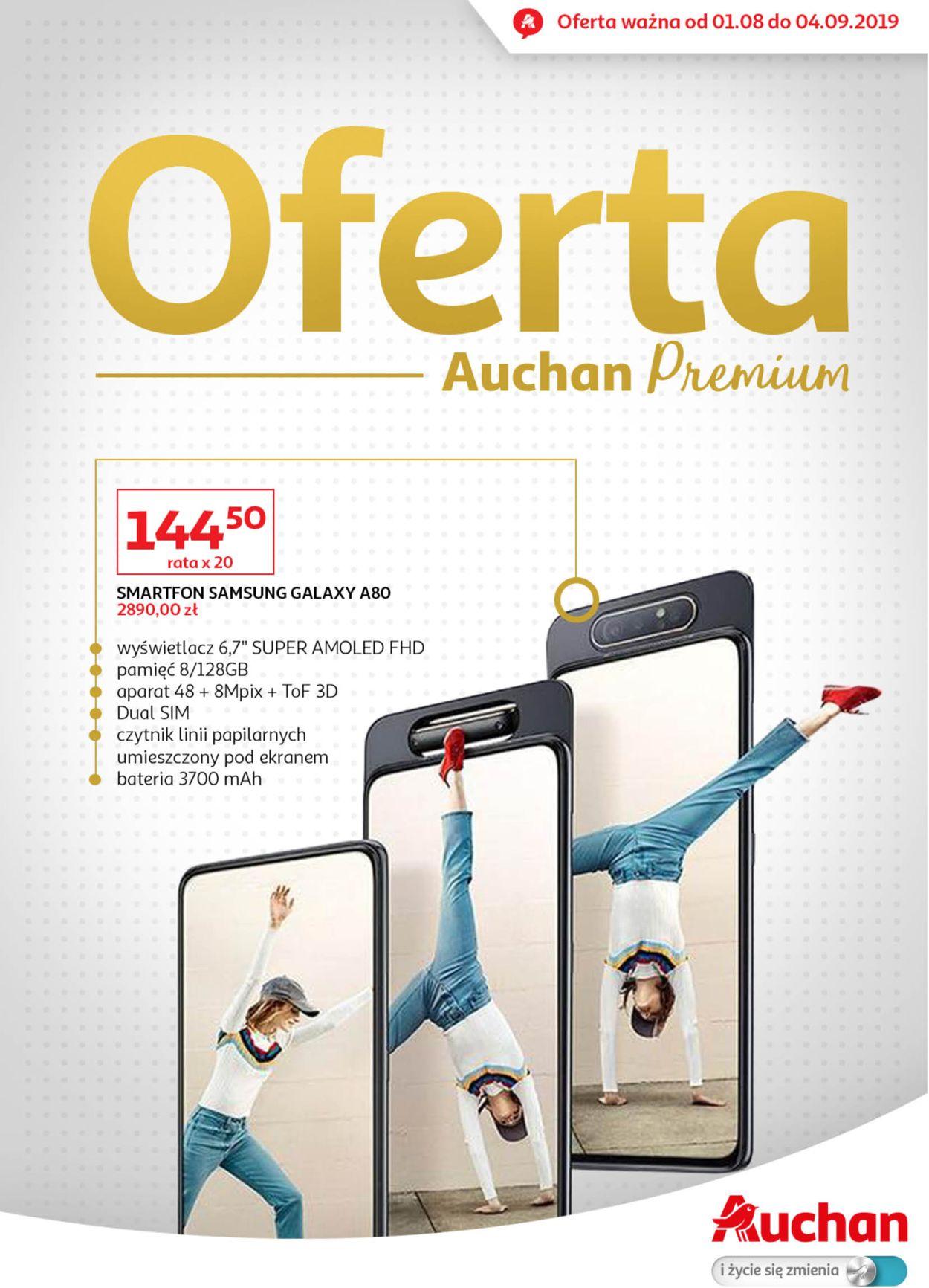 Gazetka promocyjna Auchan - 01.08-04.09.2019