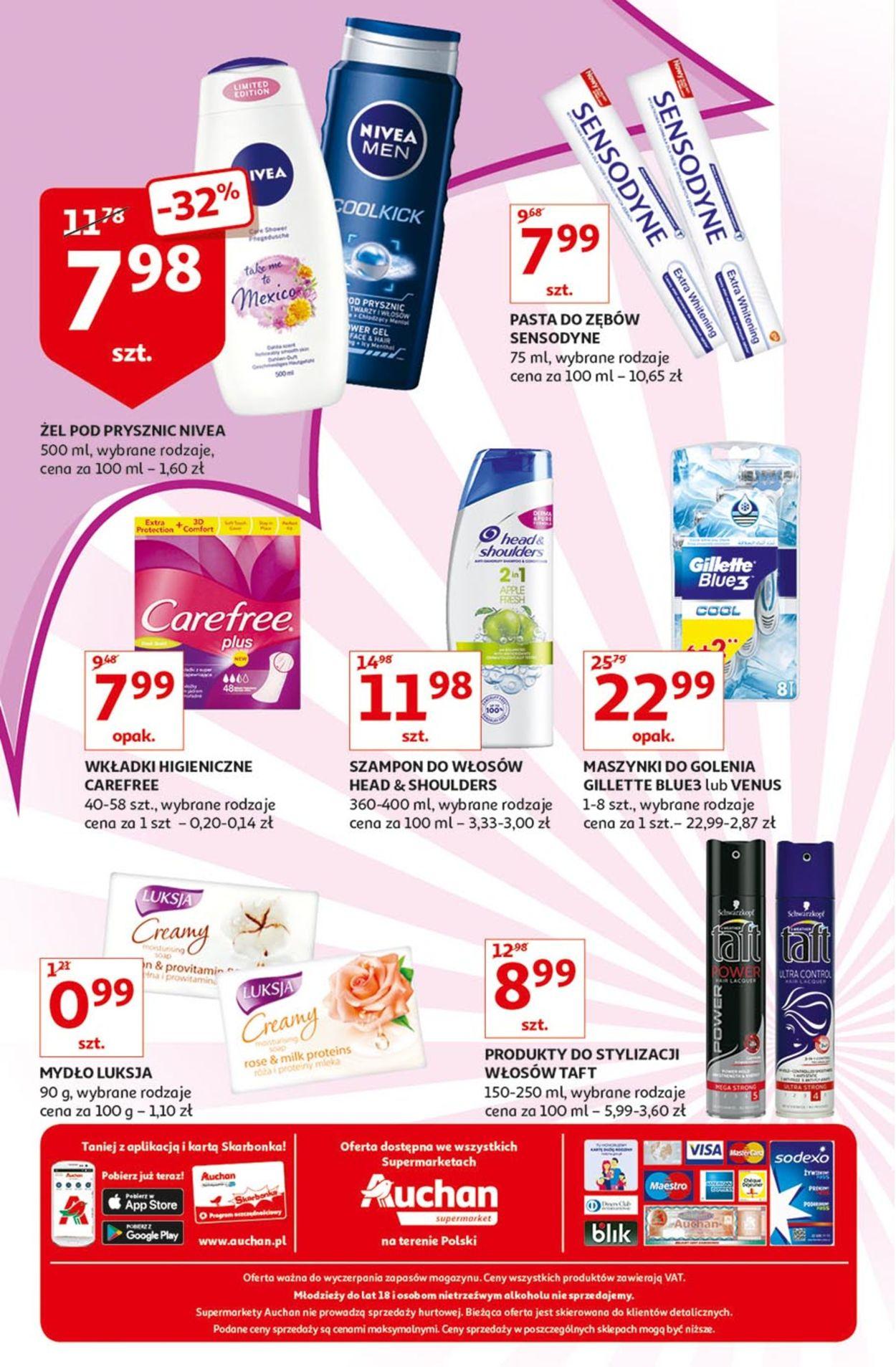 Gazetka promocyjna Auchan - 16.08-21.08.2019