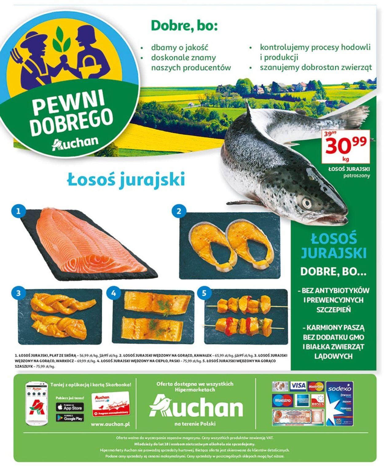 Gazetka promocyjna Auchan - 22.08-28.08.2019