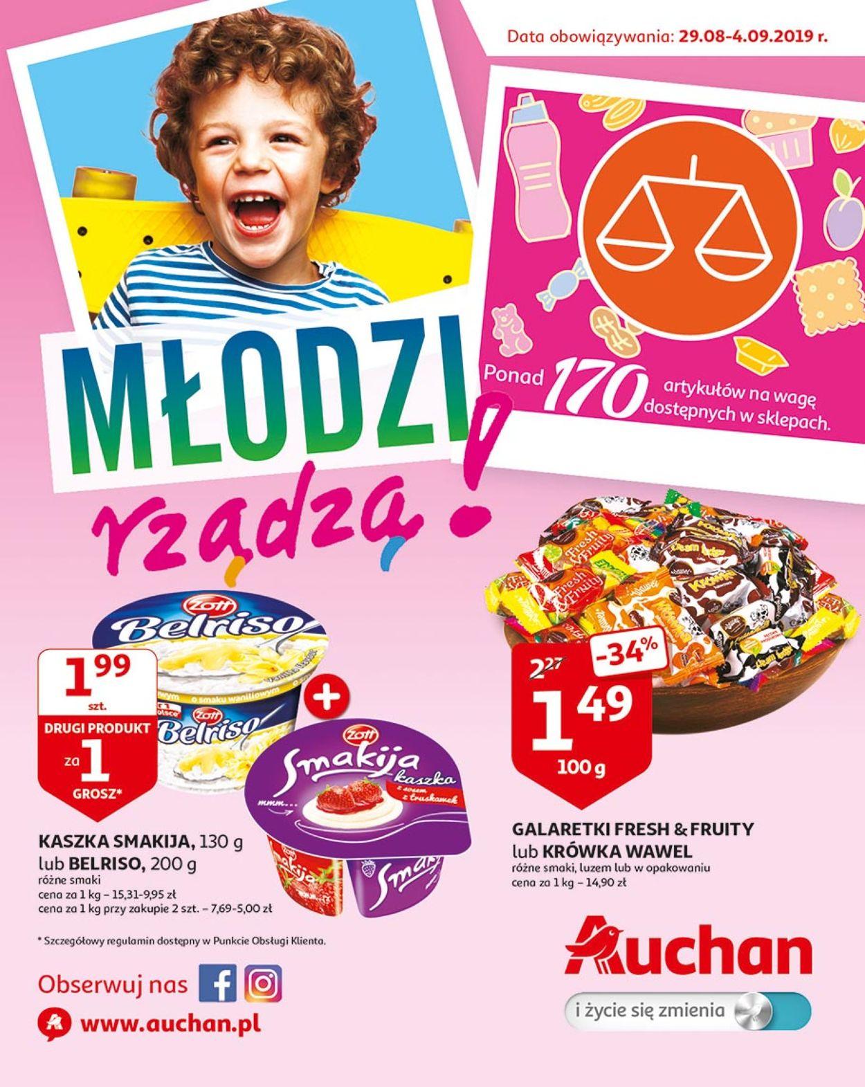Gazetka promocyjna Auchan - 29.08-04.09.2019