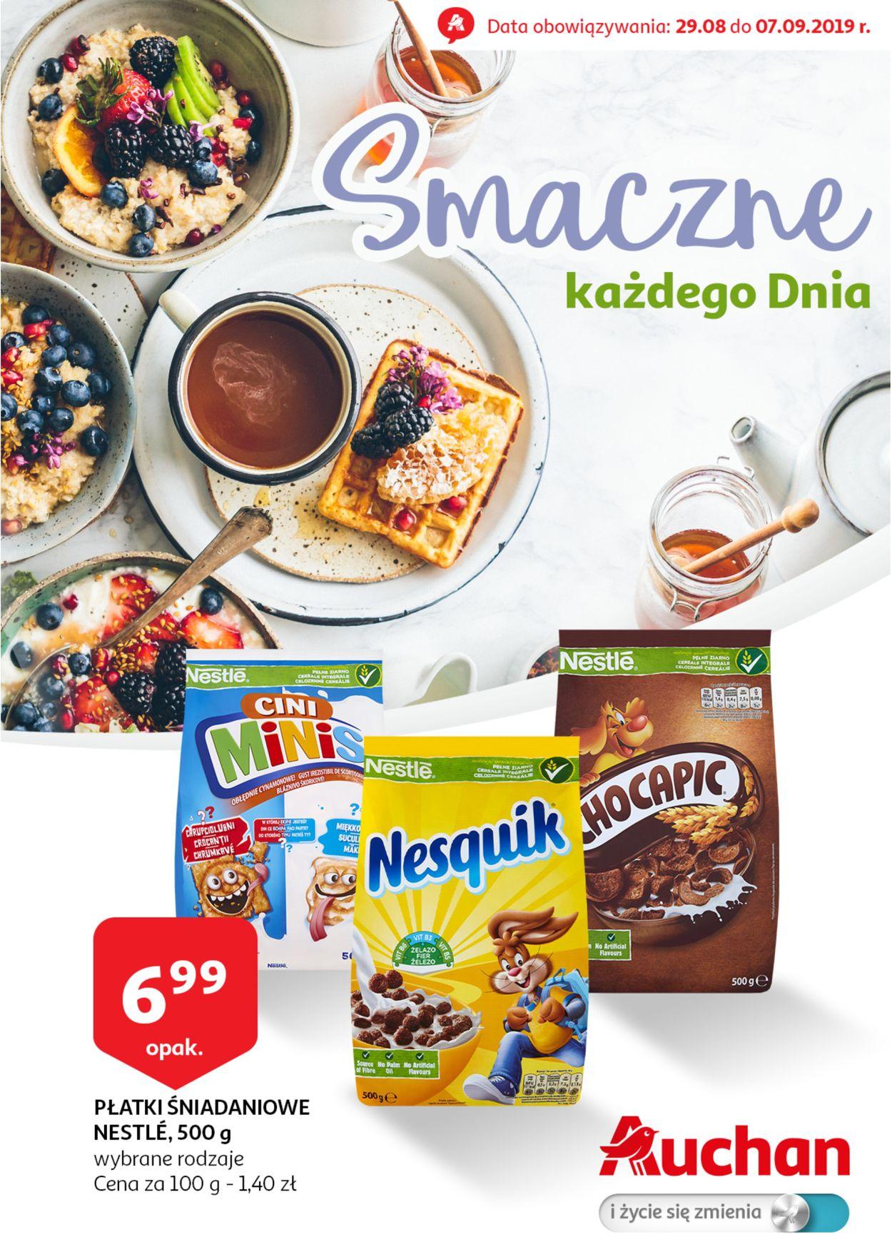 Gazetka promocyjna Auchan - 29.08-07.09.2019
