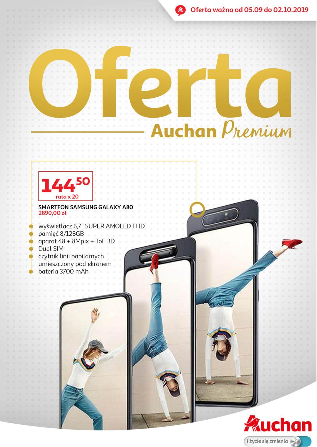 Gazetka promocyjna Auchan - 05.09-02.10.2019