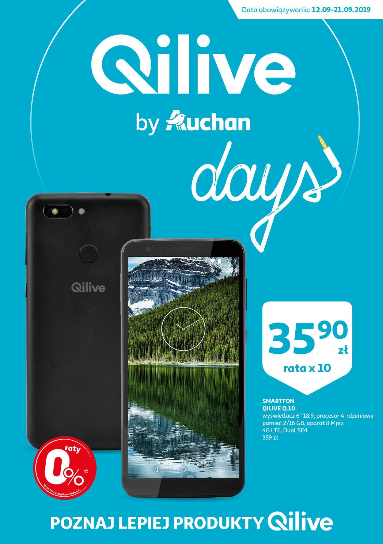 Gazetka promocyjna Auchan - 12.09-21.09.2019
