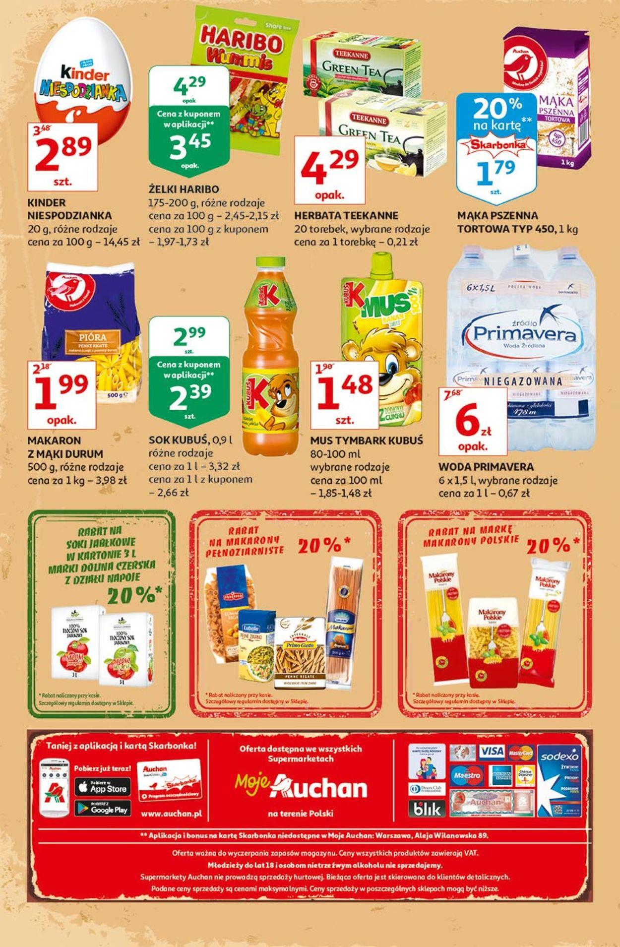 Gazetka promocyjna Auchan - 12.09-18.09.2019 (Strona 4)