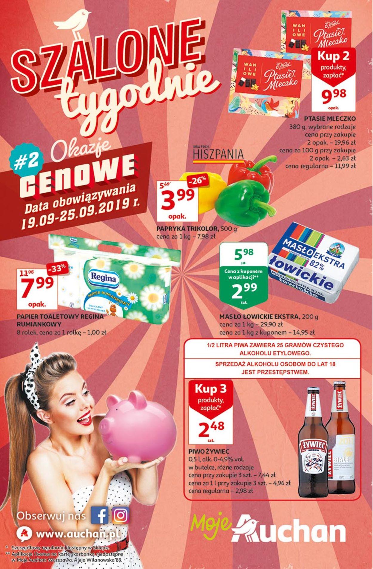 Gazetka promocyjna Auchan - 19.09-25.09.2019