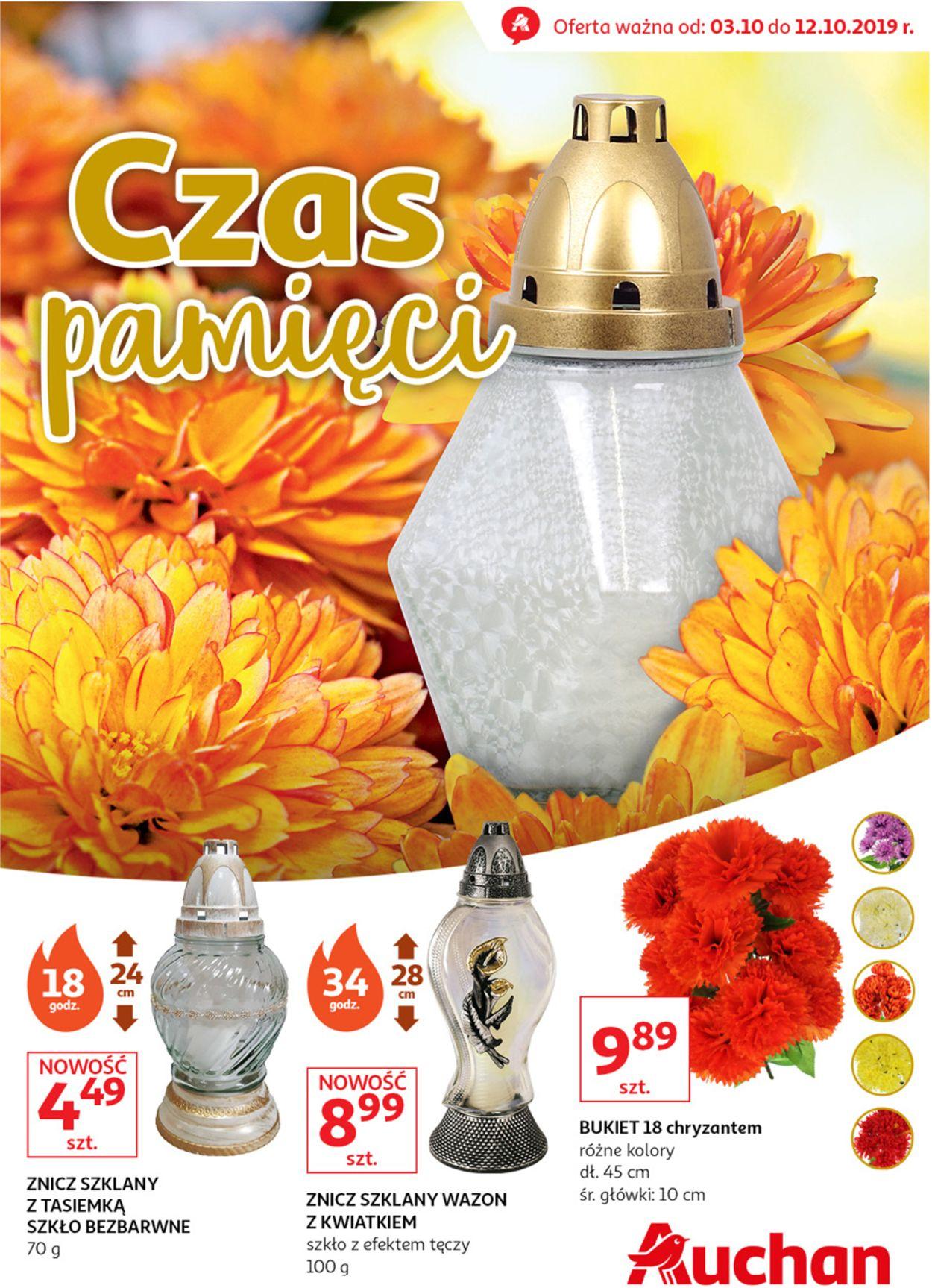 Gazetka promocyjna Auchan - 03.10-12.10.2019
