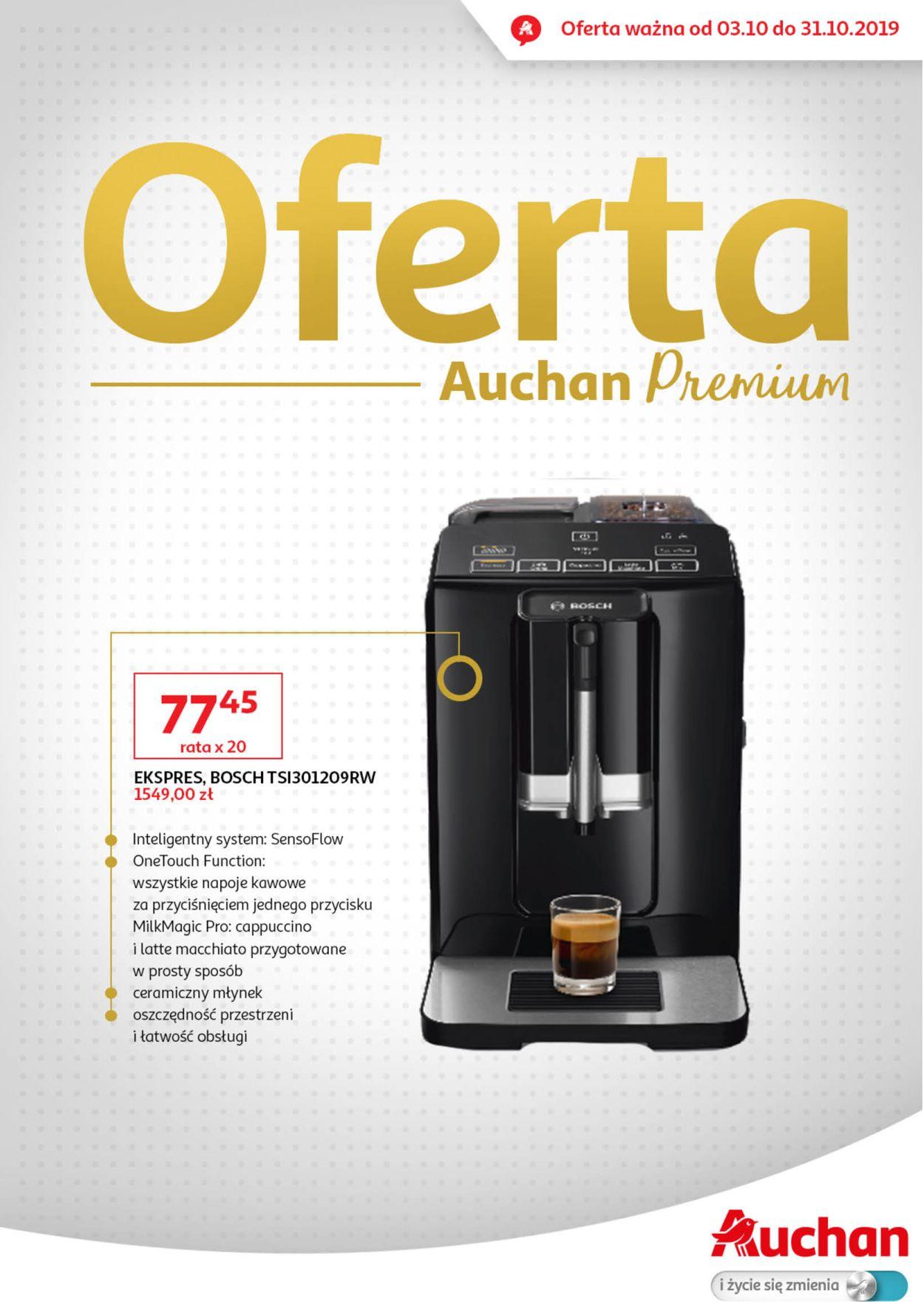 Gazetka promocyjna Auchan - 03.10-31.10.2019