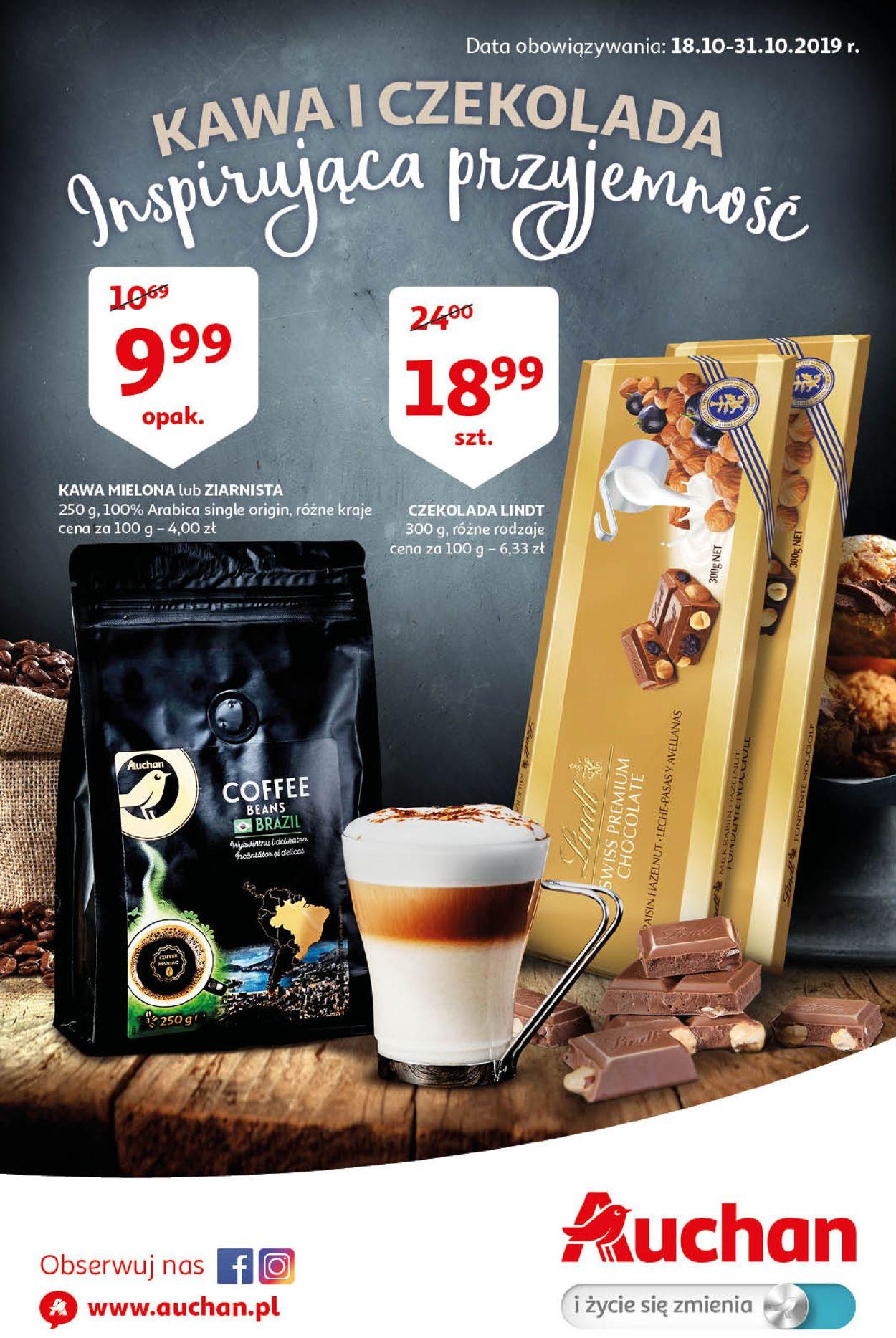 Gazetka promocyjna Auchan - 18.10-31.10.2019