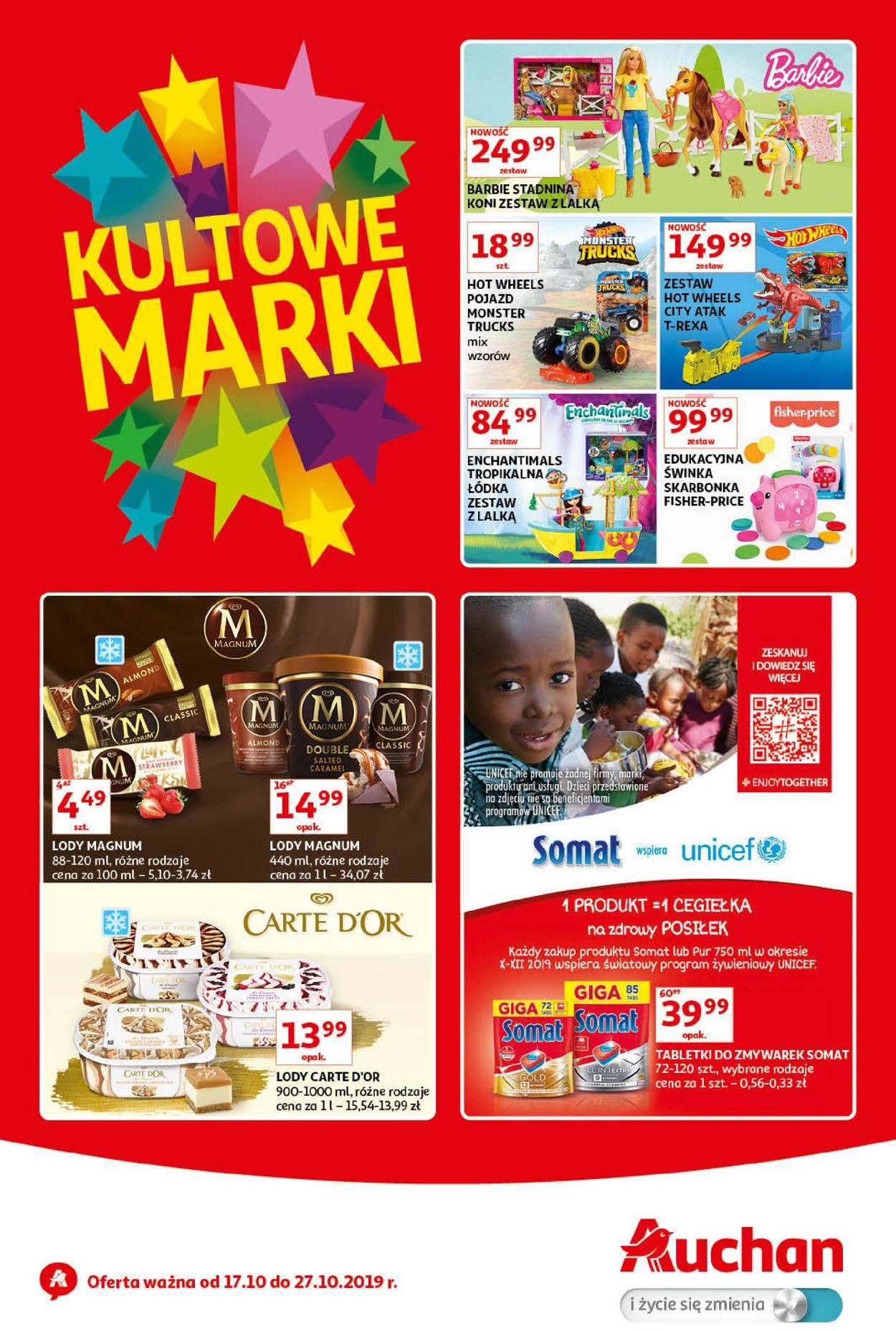 Gazetka promocyjna Auchan - 17.10-27.10.2019