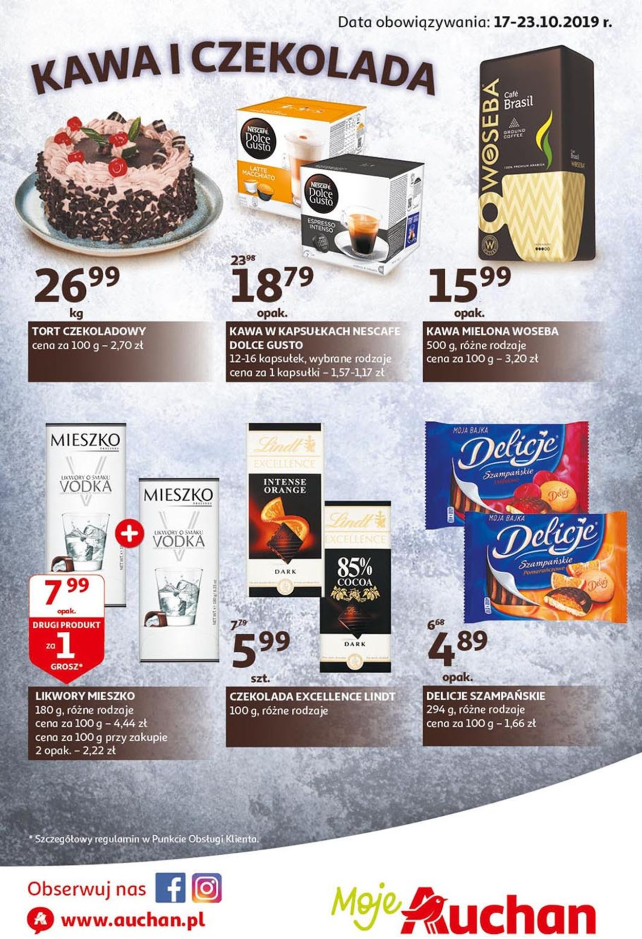 Gazetka promocyjna Auchan - 17.10-23.10.2019