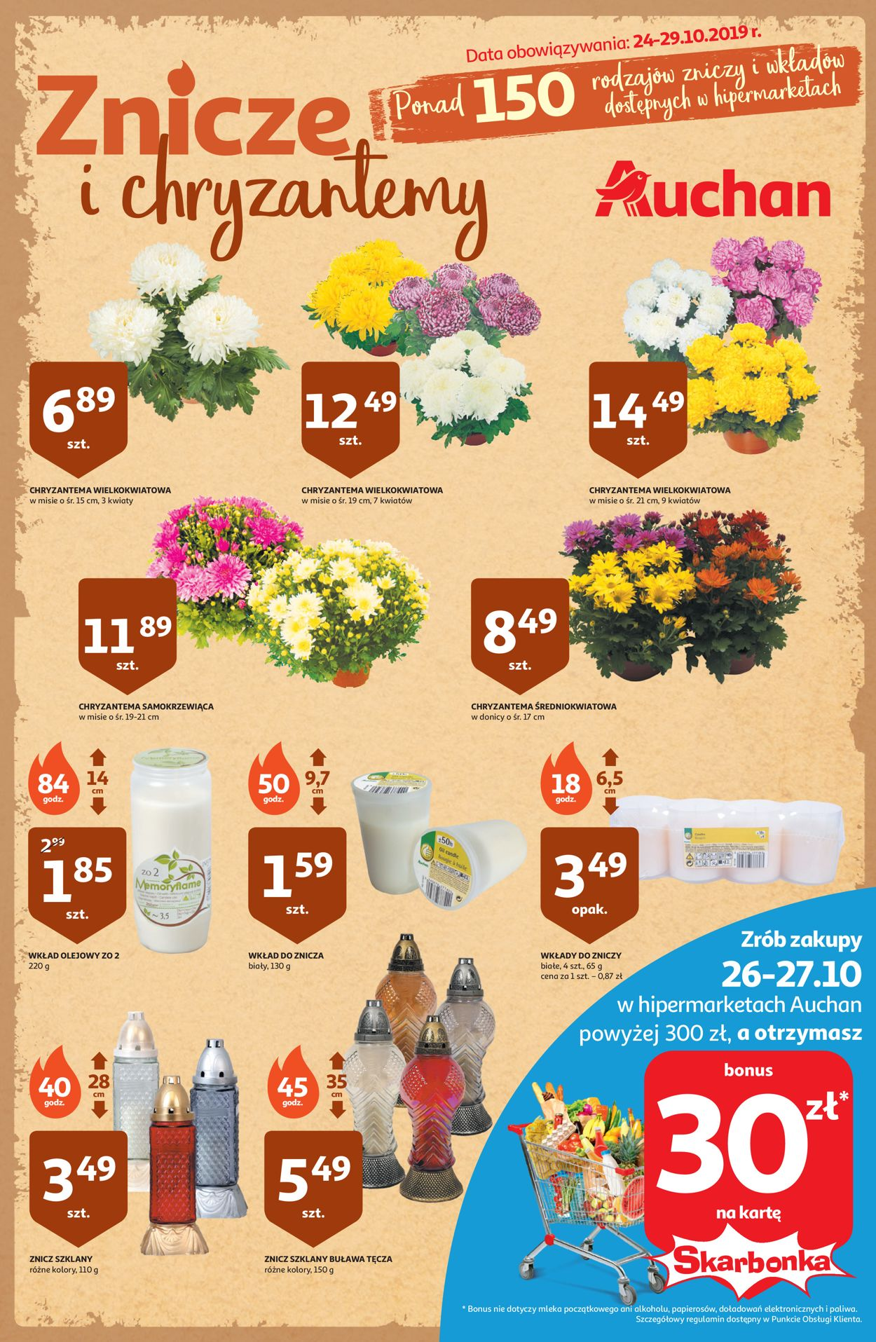 Gazetka promocyjna Auchan - 24.10-29.10.2019